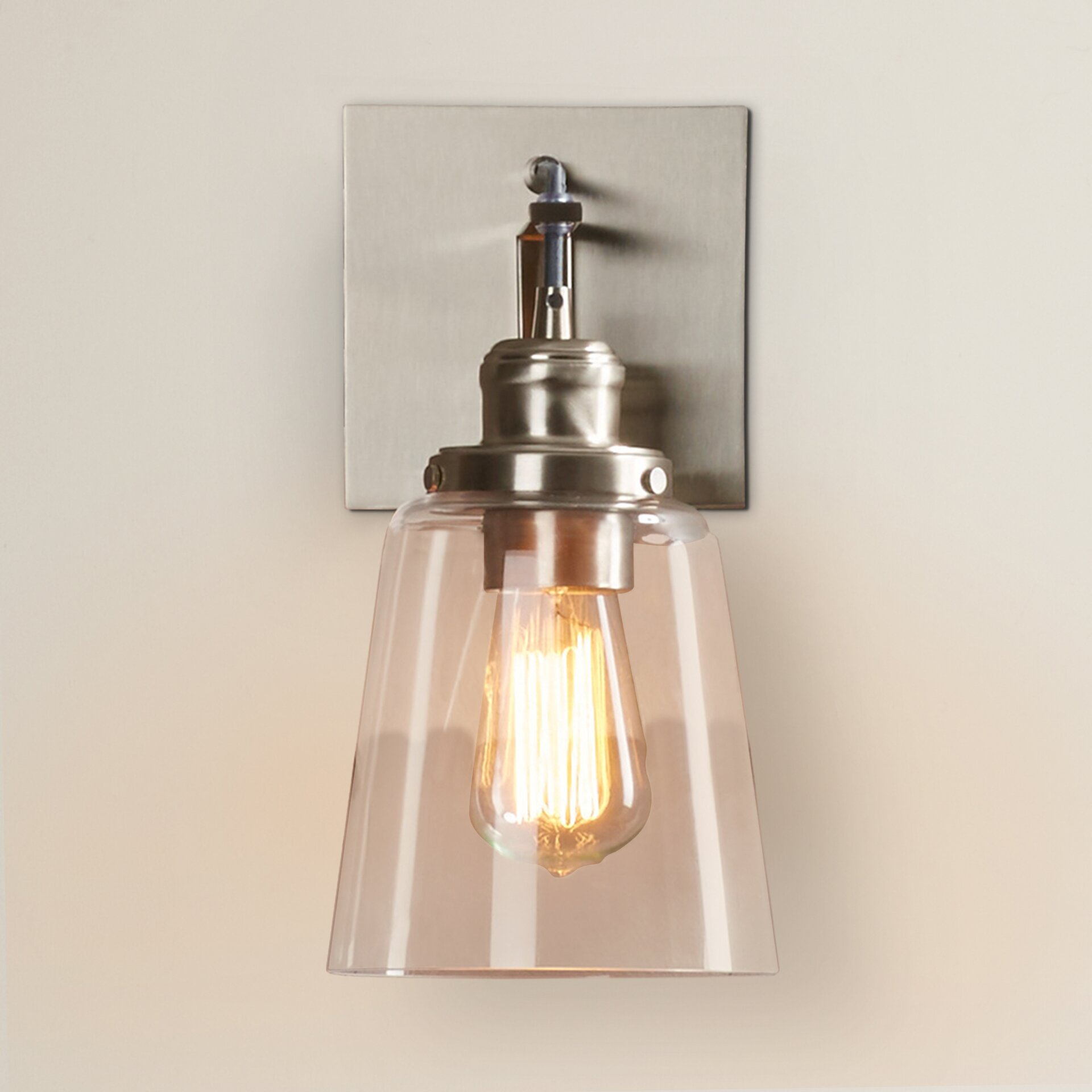 Wall Sconces At Wayfair : Trent Austin Design Knapp 1 Light Wall Sconce & Reviews Wayfair