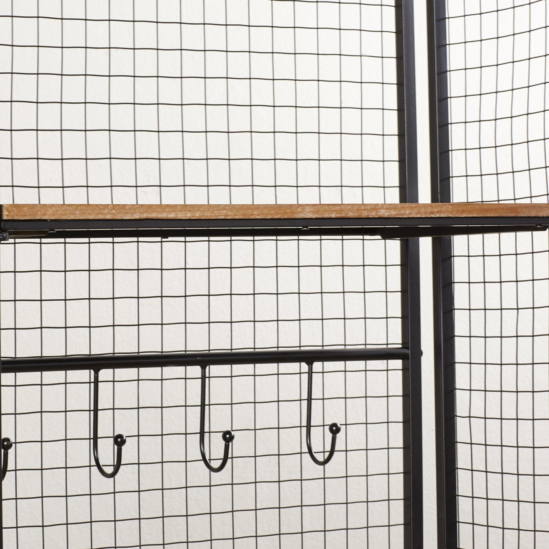Beautiful Mesmerize Grid Coat Rack Interview