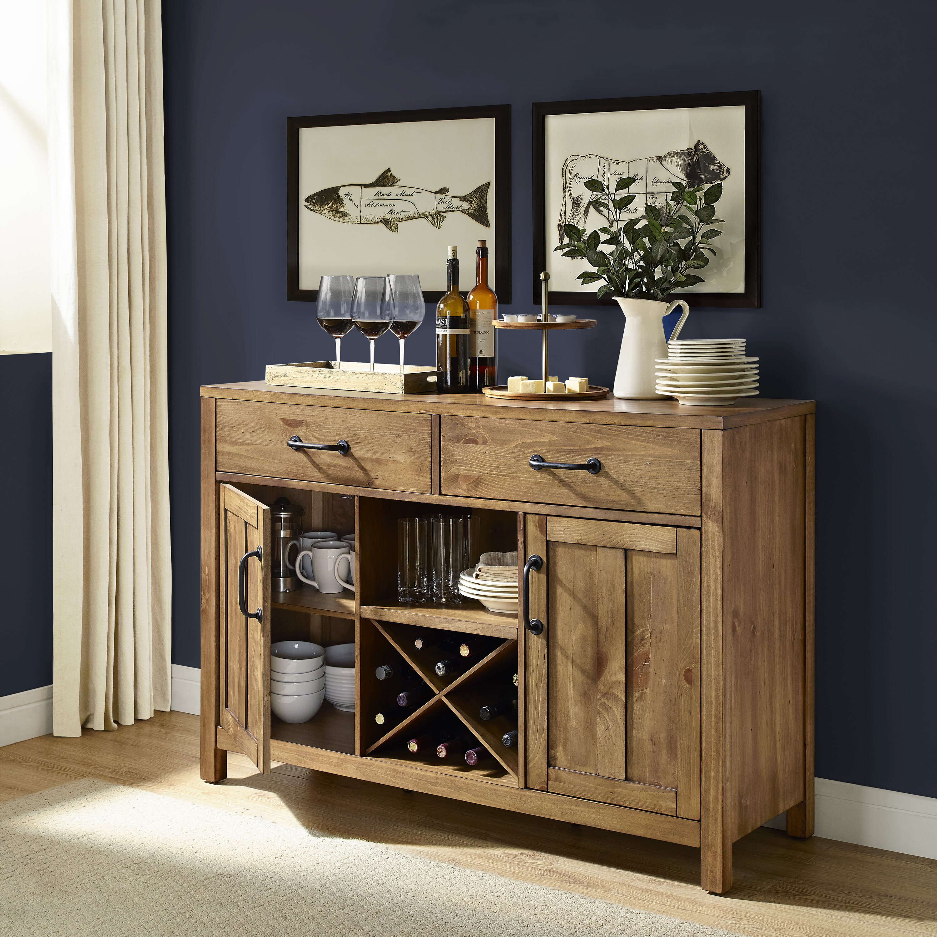 Remodel Your Kitchen For Maximum Storage And Light: Trent Austin Design Avenal Buffet & Reviews