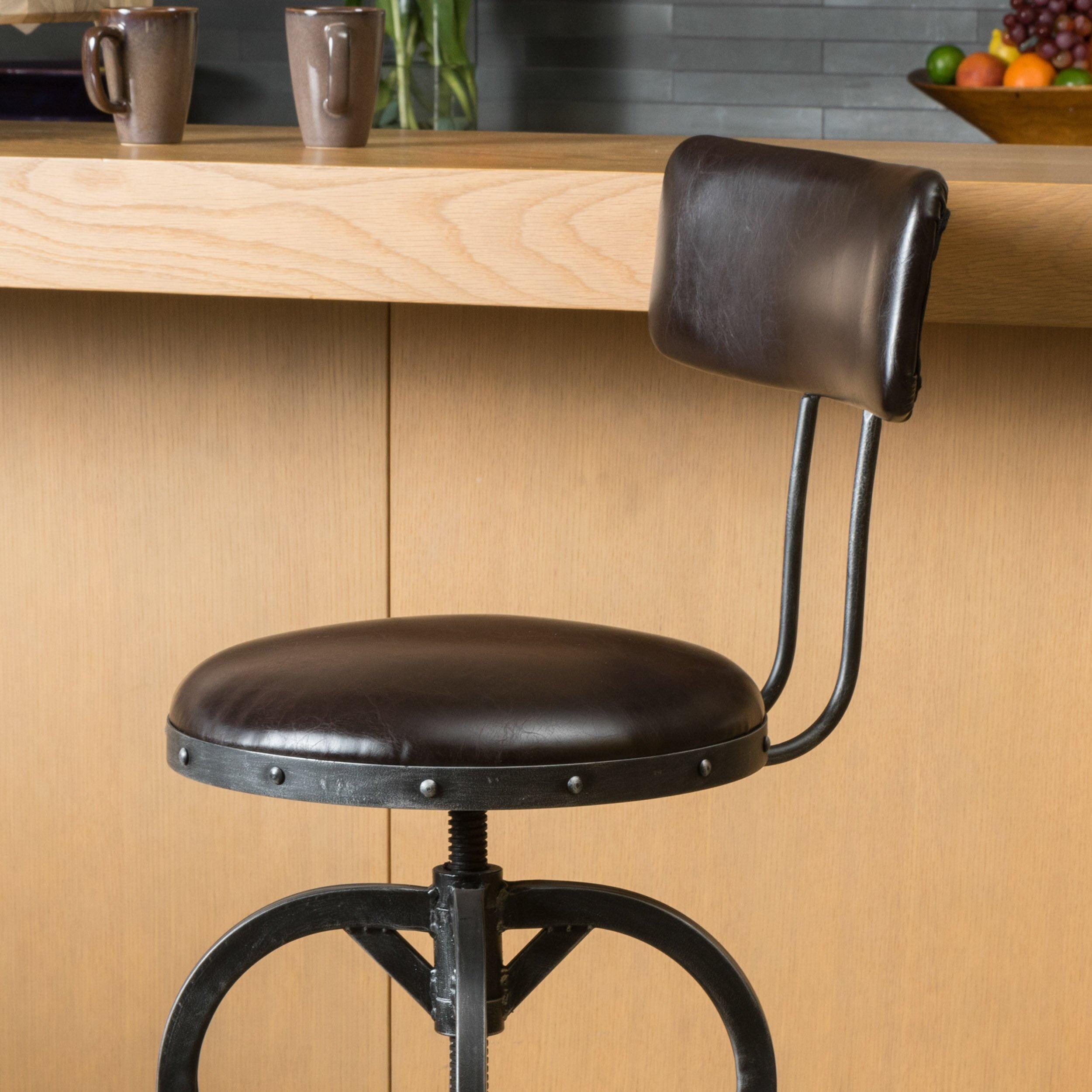 Trent Austin Design Oria Adjustable Height Swivel Bar