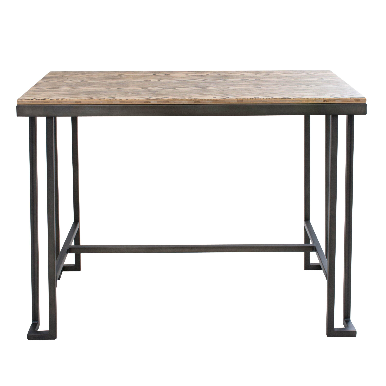 ... Austin Design Calistoga Counter Height Pub Table & Reviews Wayfair