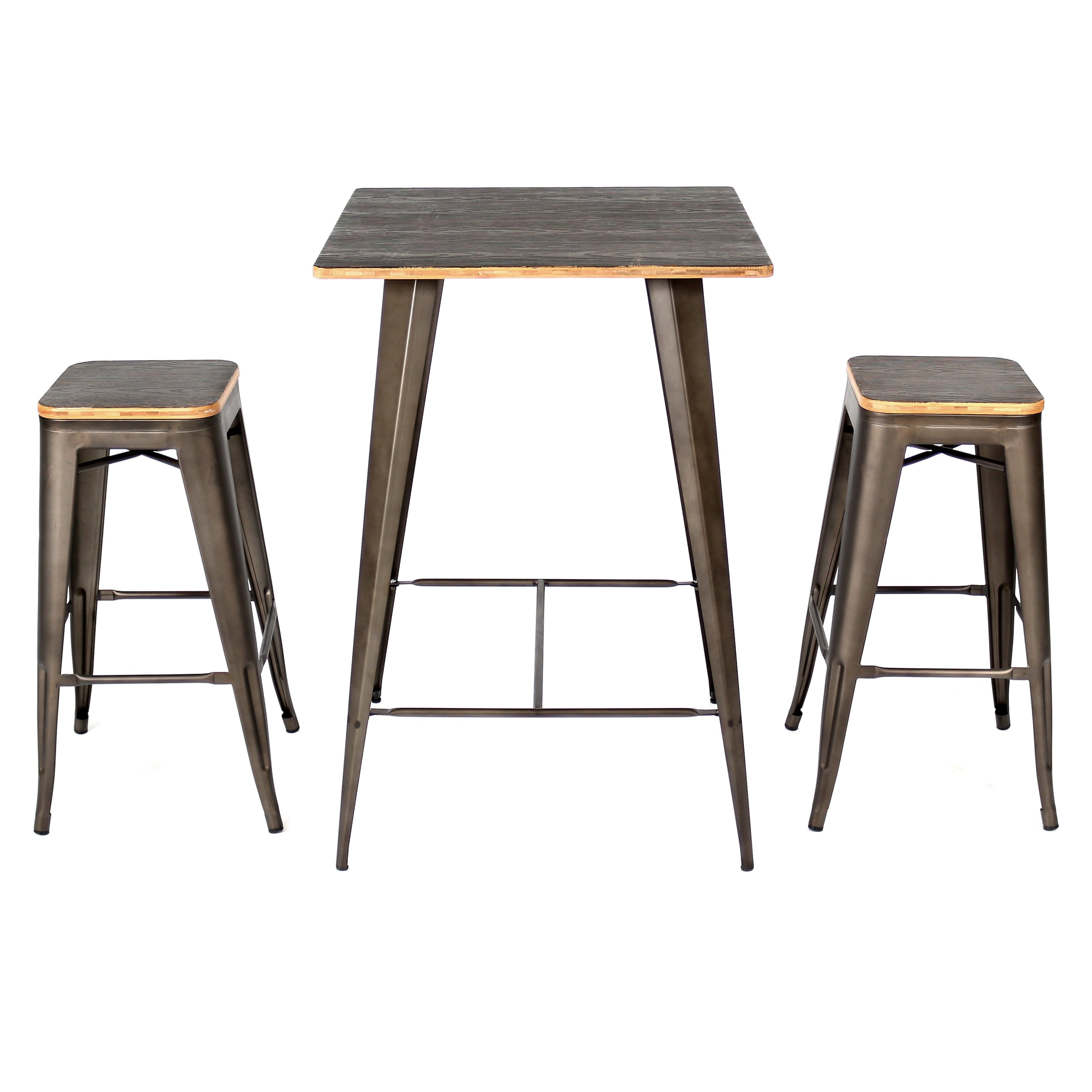 Trent Austin Design Claremont 3 Piece Pub Table Set