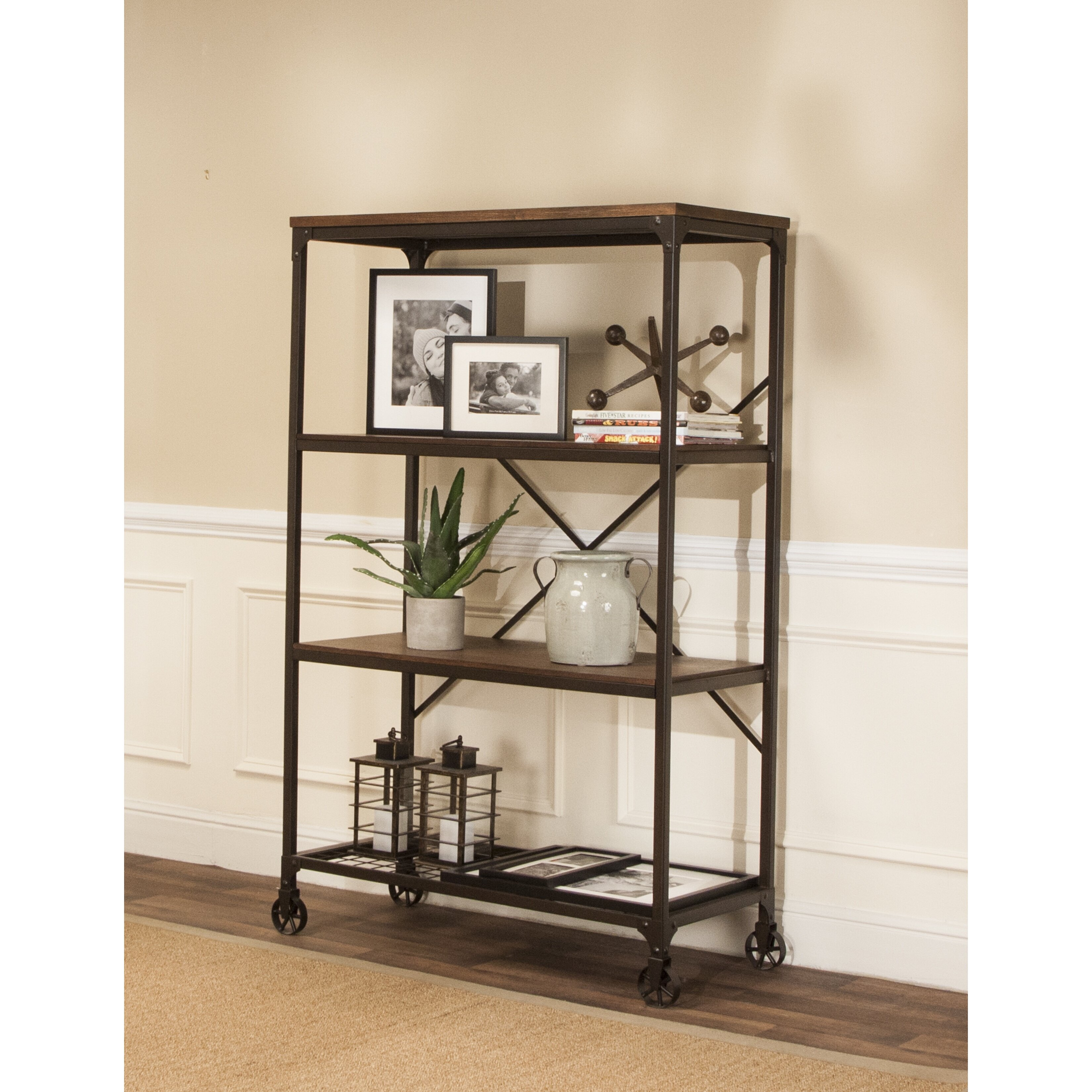 trent austin design chelles 63 etagere bookcase wayfair. Black Bedroom Furniture Sets. Home Design Ideas