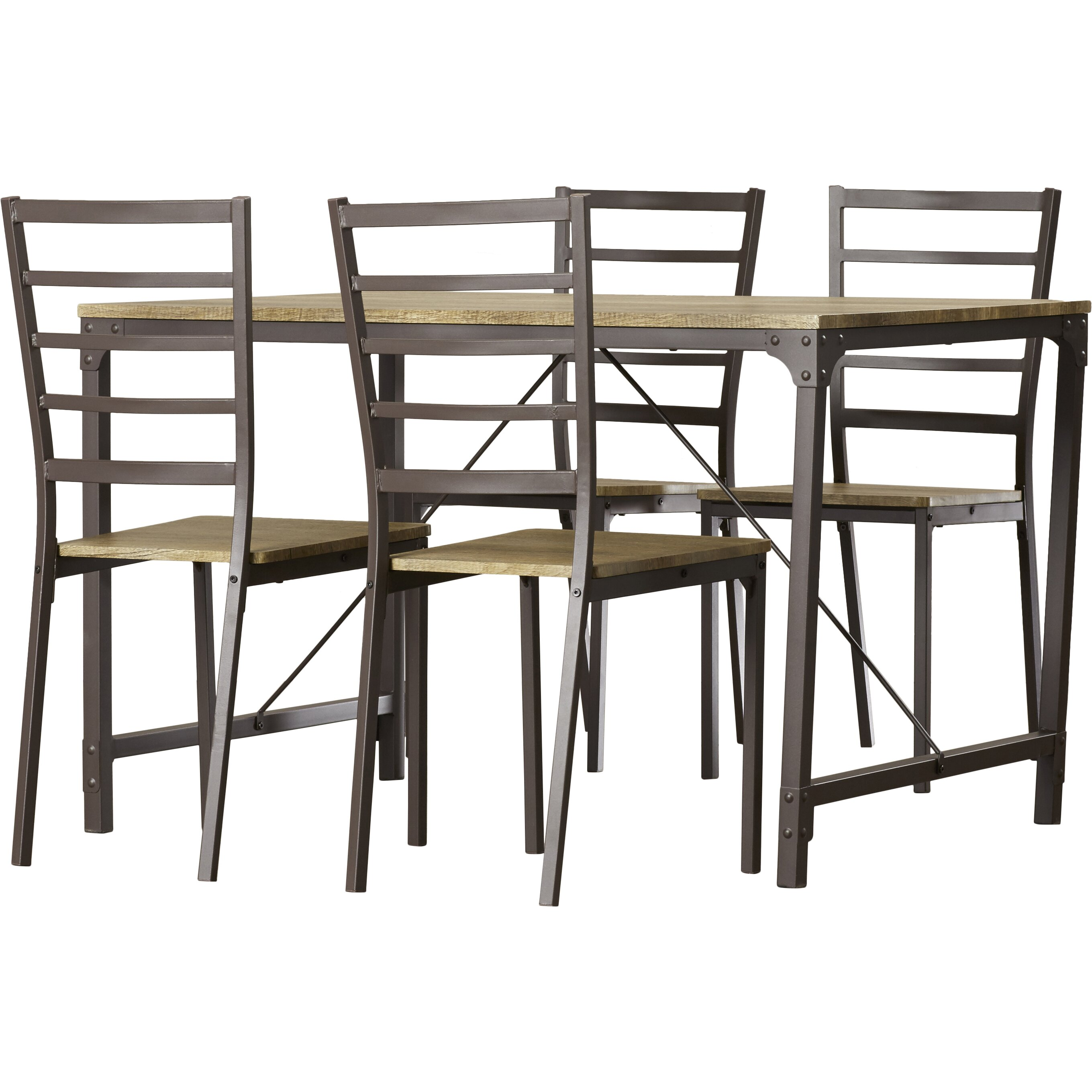 Trent austin design bismark 5 piece dining set reviews wayfair - Dining room sets austin tx ...