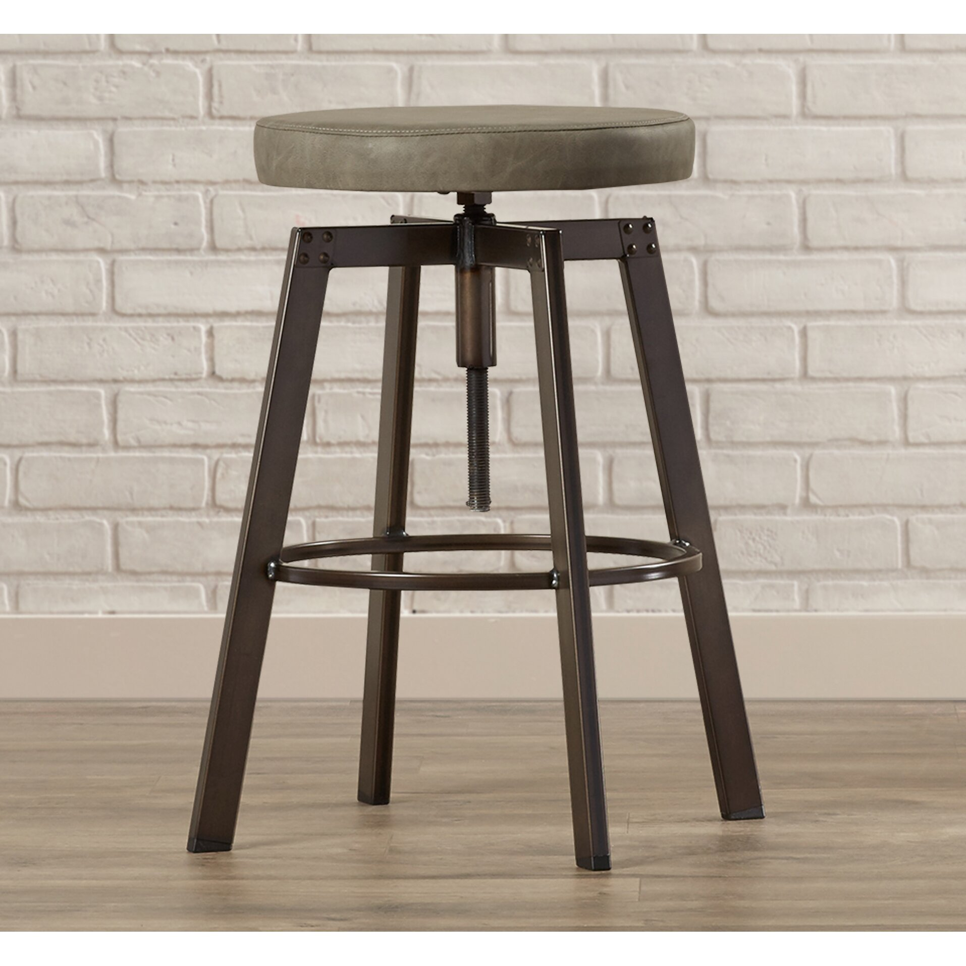 #786553 Trent Austin Design Chasewych Adjustable Height Bar Stool Wayfair with 1914x1914 px of Recommended Tall Bar Bench 19141914 save image @ avoidforclosure.info