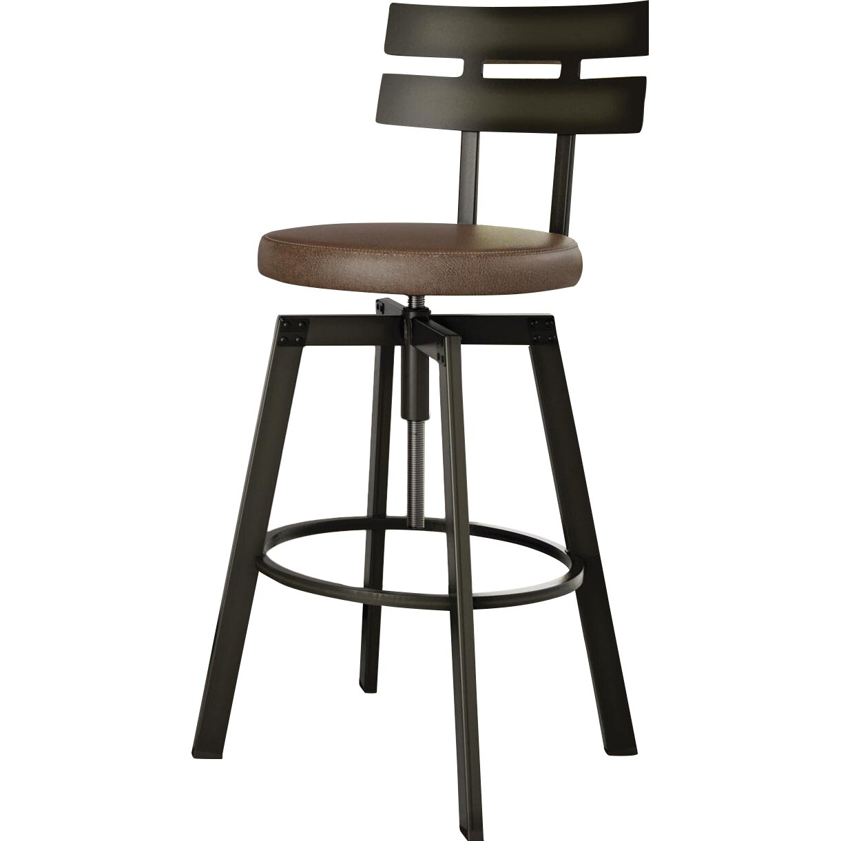 design berrycone adjustable height bar stool reviews wayfair