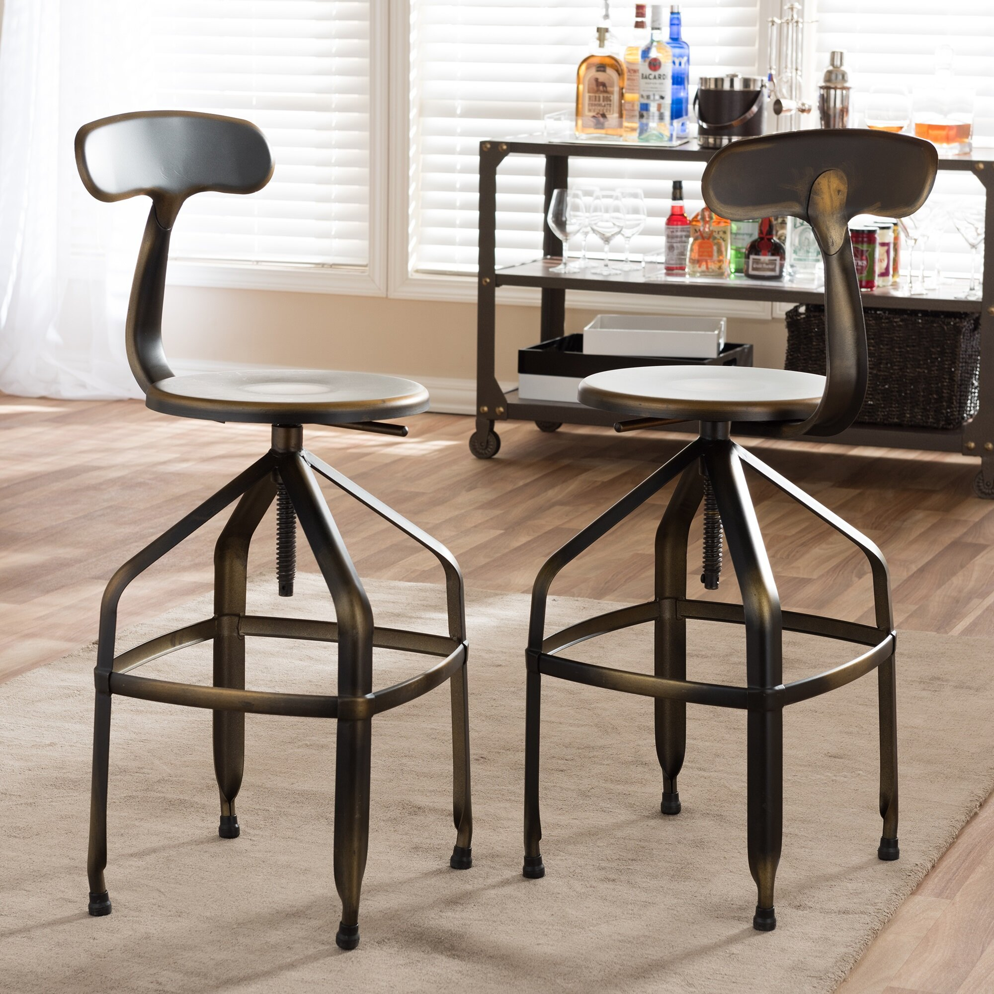 Trent Austin Design Flanagan Adjustable Height Swivel Bar