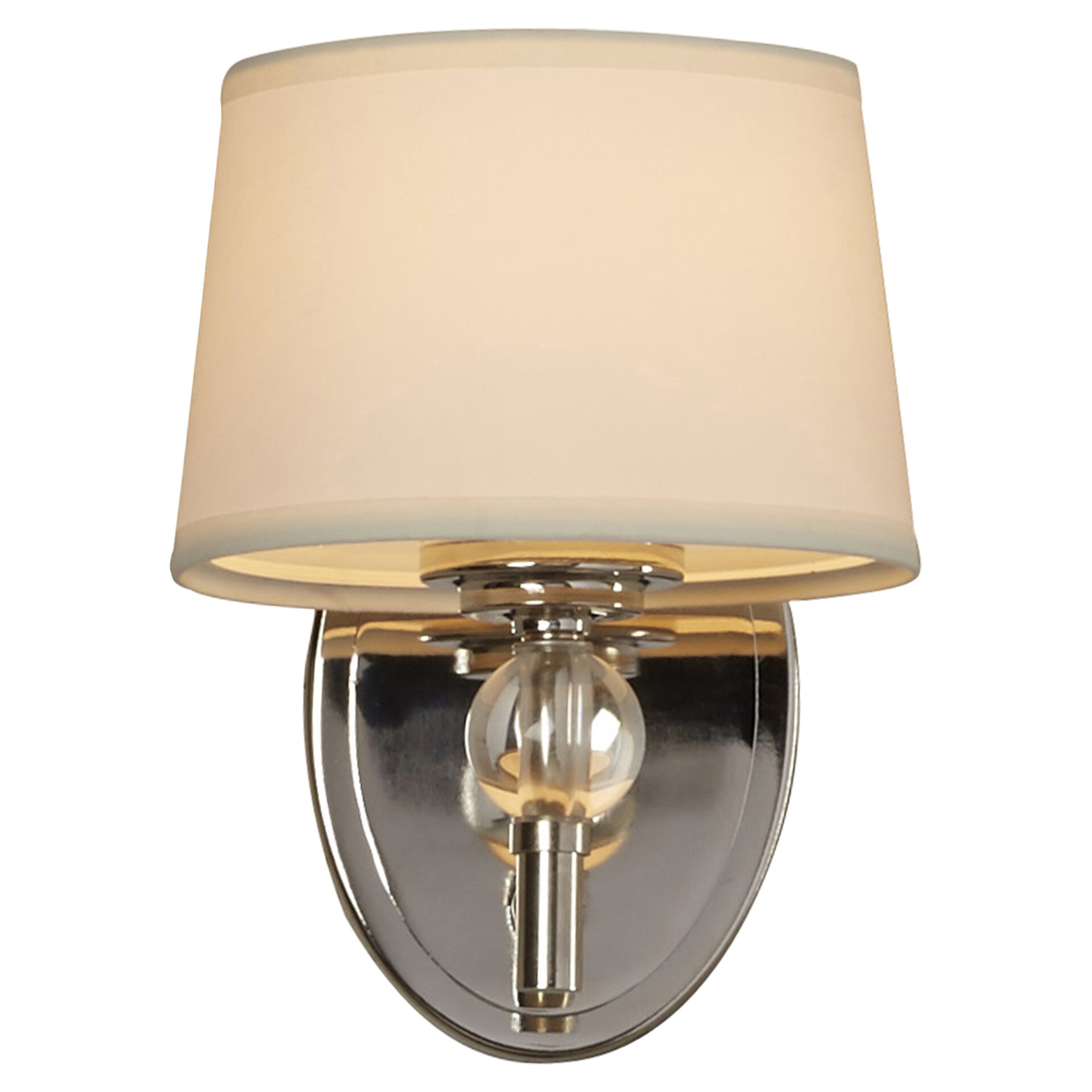 Wall Sconce With Crystal Ball : House of Hampton Gus Crystal Ball 1 Light Wall Sconce & Reviews Wayfair Supply