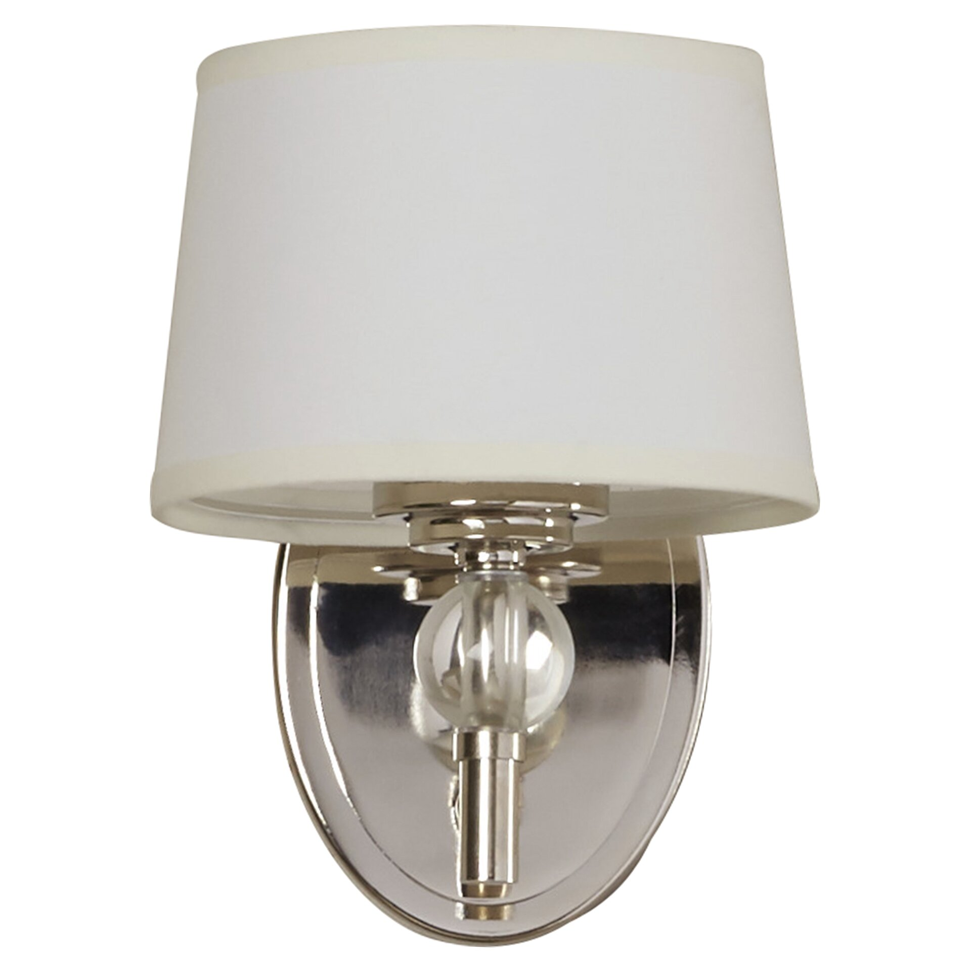 Wall Sconce With Crystal Ball : House of Hampton Gus Crystal Ball 1 Light Wall Sconce & Reviews Wayfair