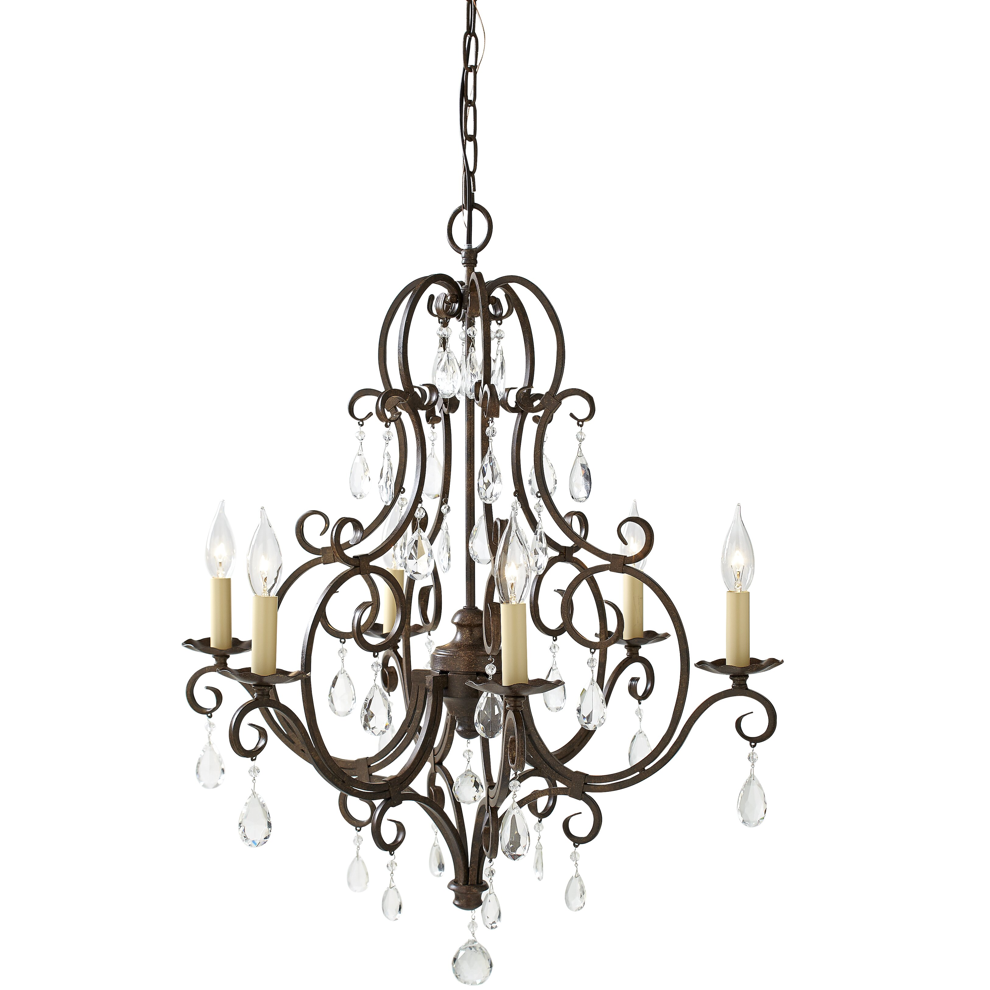 House Of Hampton Esse 6 Light Candle Chandelier Amp Reviews