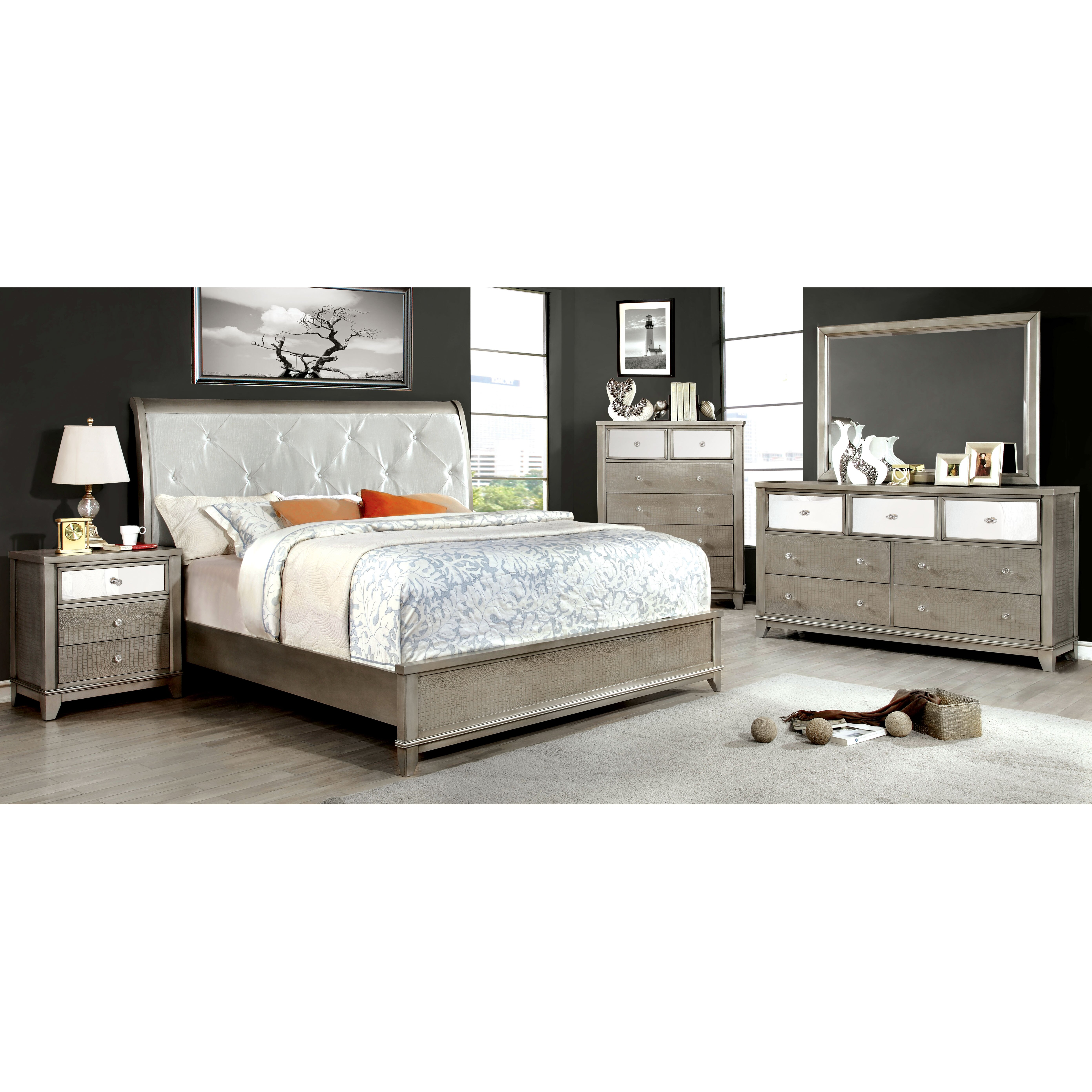 House Of Hampton Platform Customizable Bedroom Set