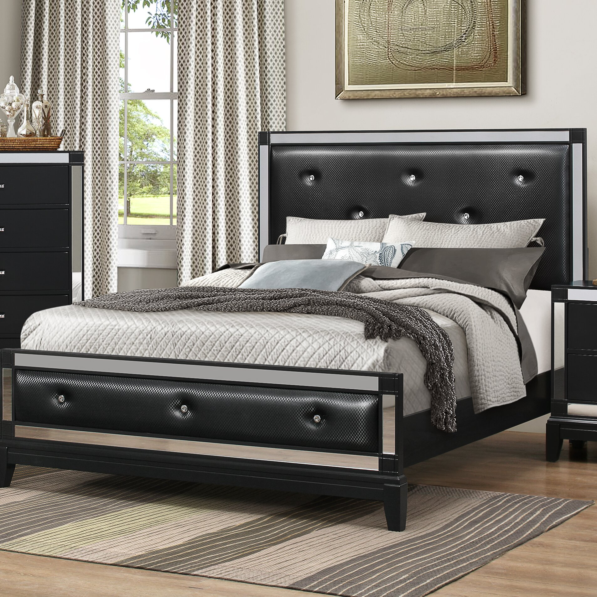 Furniture Bedroom Furniture Queen Bedroom Sets House Of Hampton