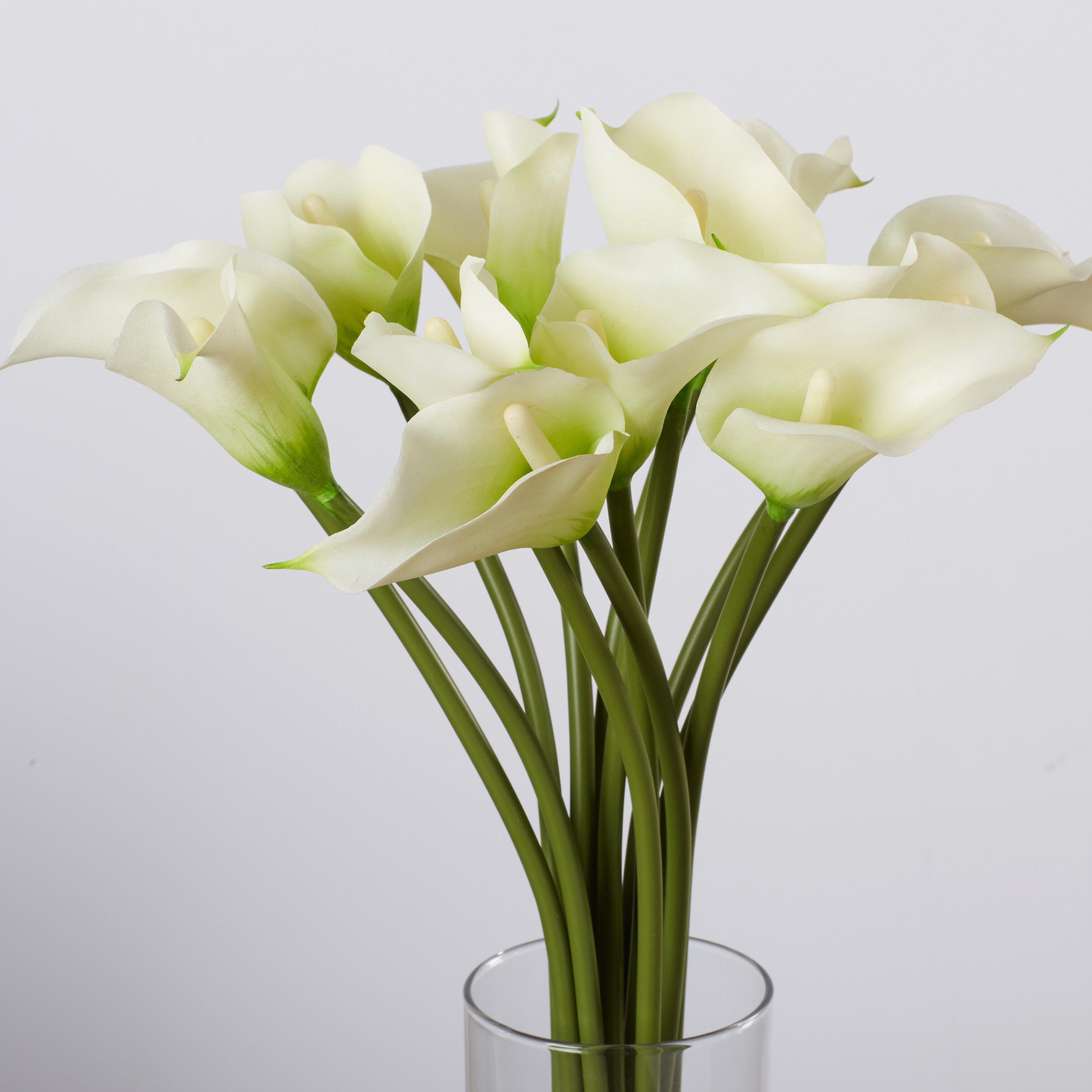 House of hampton calla lily flower arrangement in flower for Calla lily flower meaning