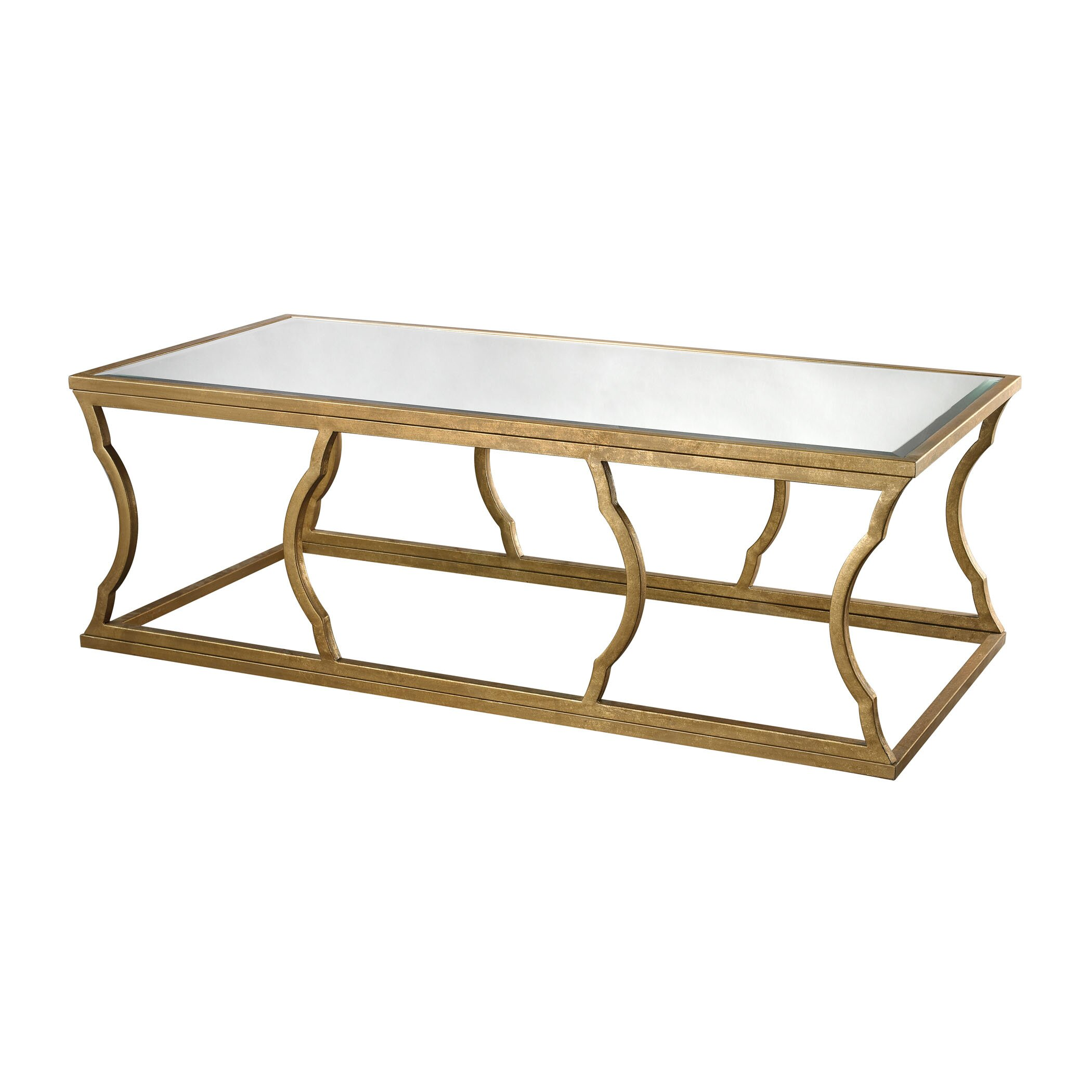 House Of Hampton Remicourt Coffee Table Wayfair