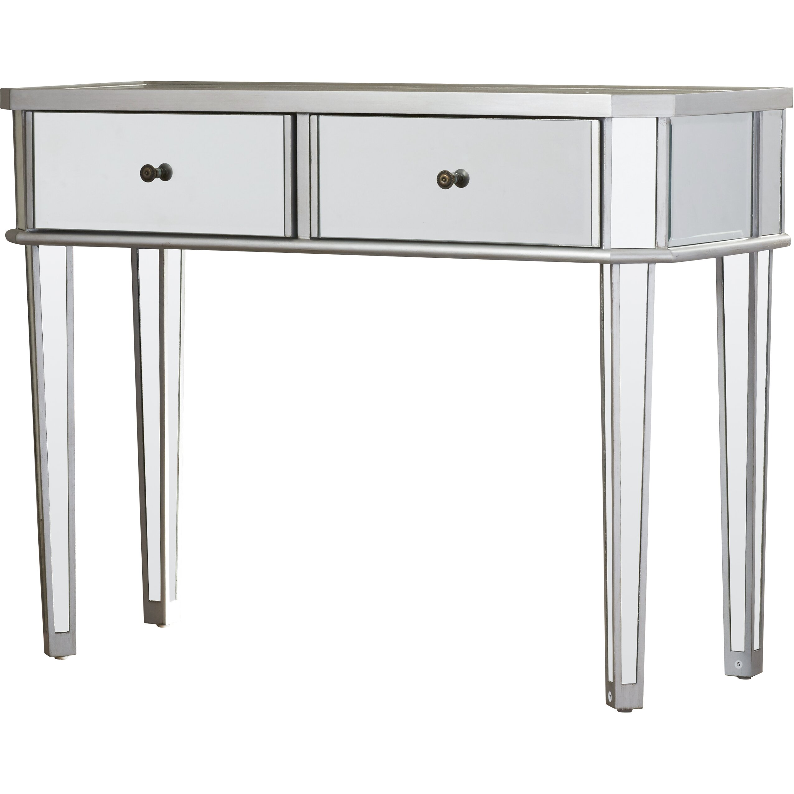 Mirrored Console Table: House Of Hampton Matteo Mirrored Console Table & Reviews