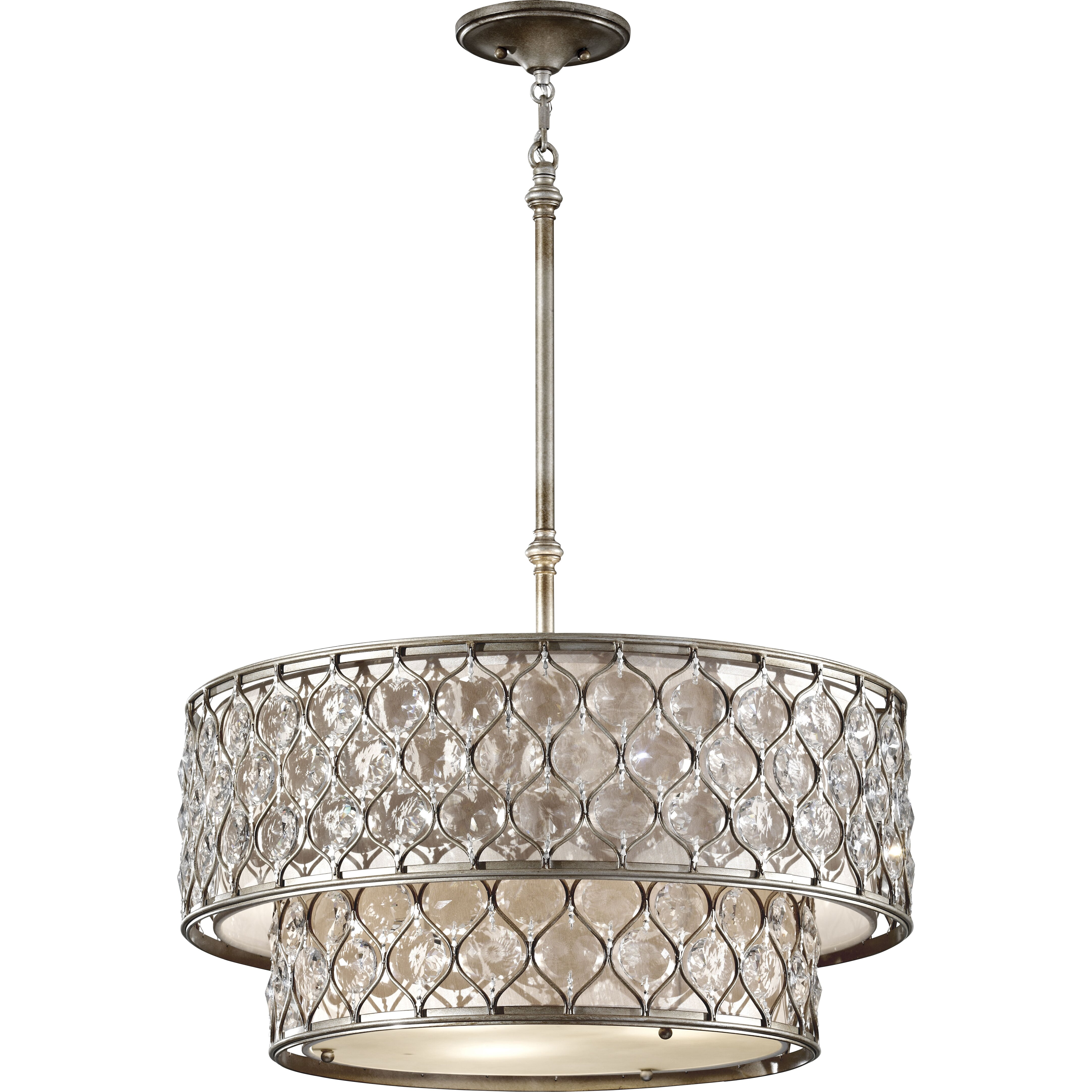 House Of Hampton Honora 6 Light Drum Chandelier Amp Reviews