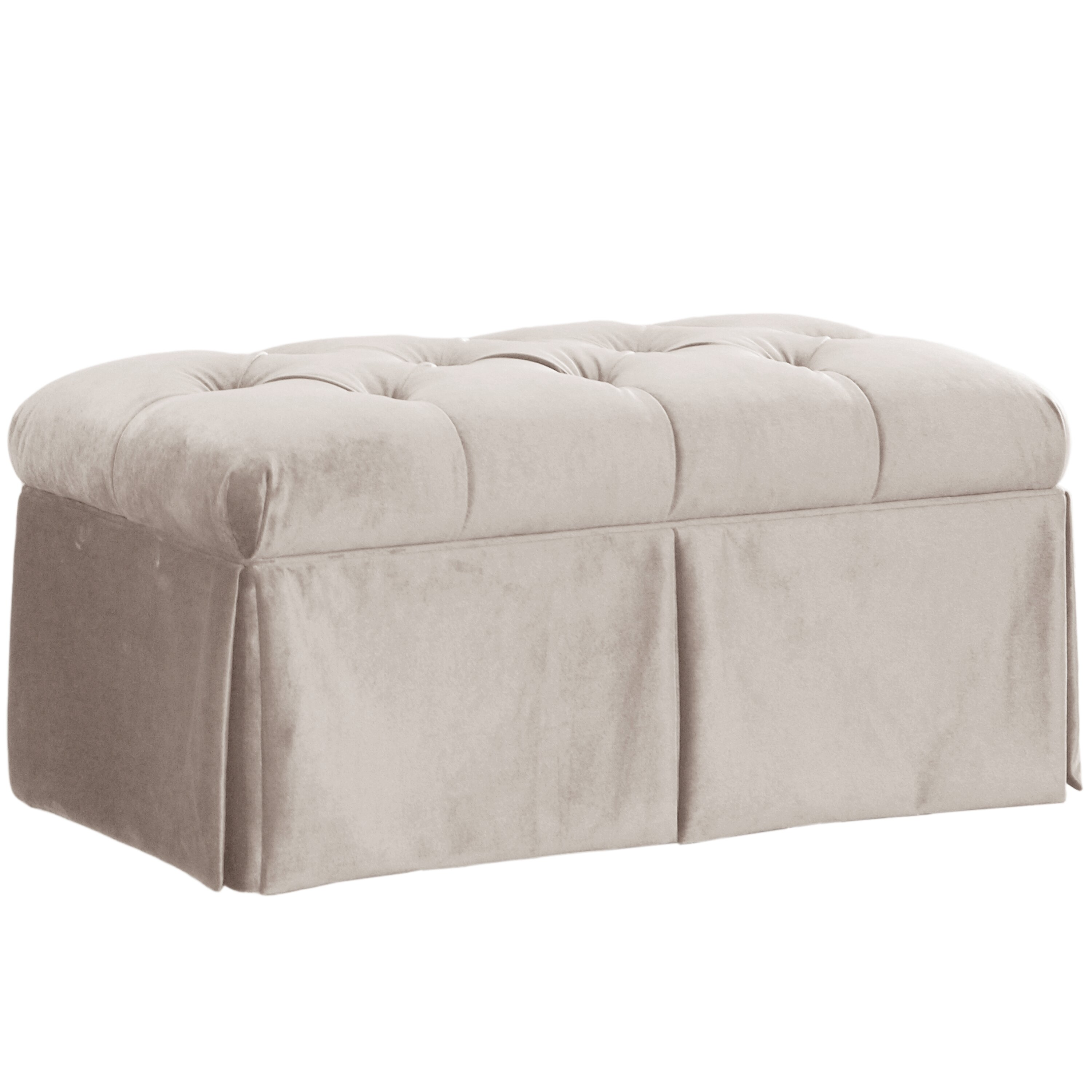 House Of Hampton Belle Upholstered Storage Bench Wayfair