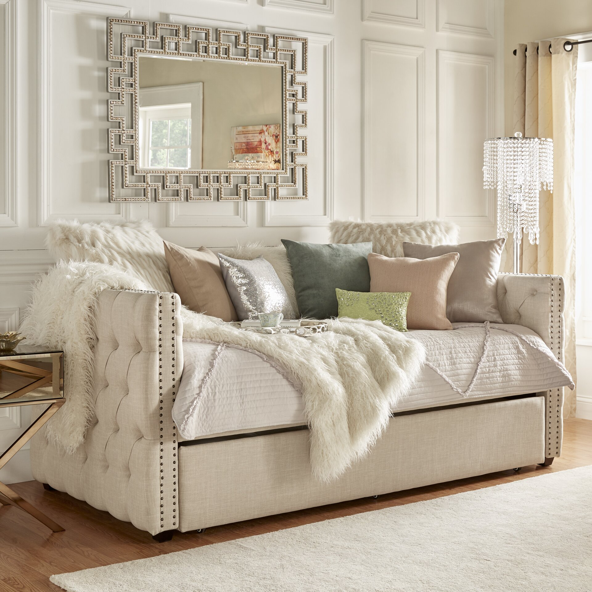 House Of Hampton Ghislain Daybed With Trundle Reviews