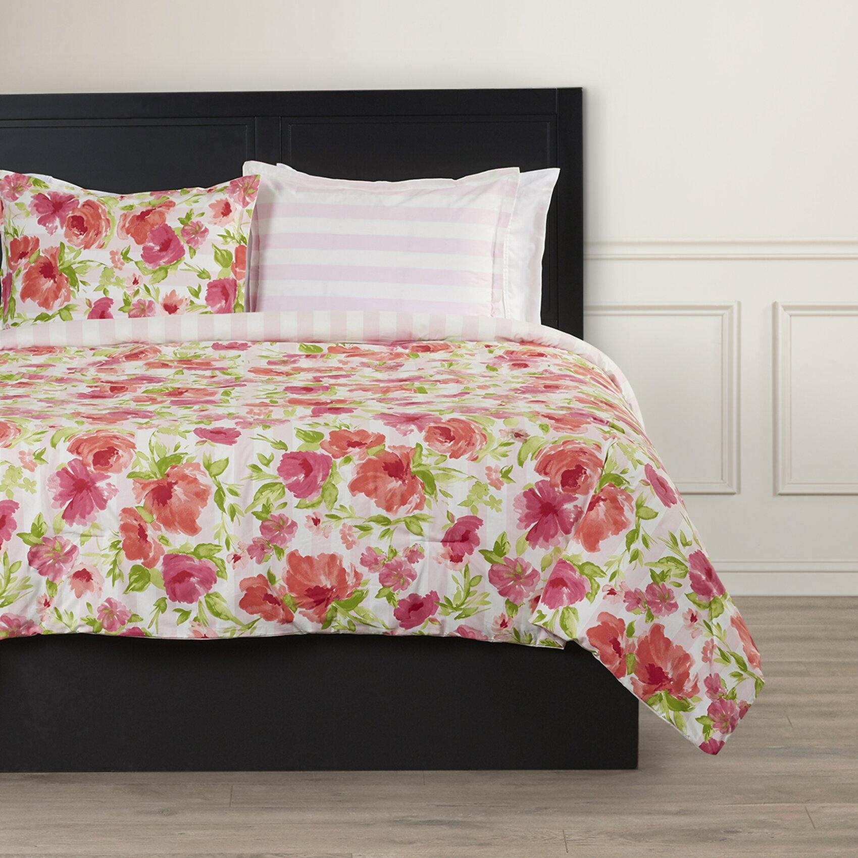 House of hampton pantelle reversible comforter set for House of hampton bedding