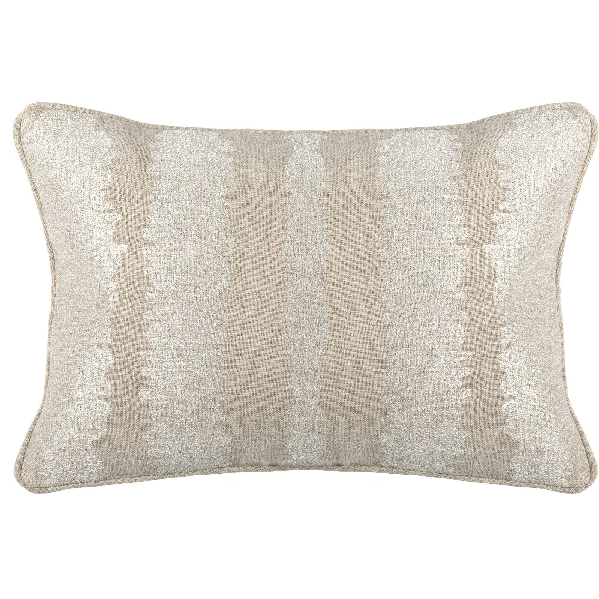 House of hampton failsworth linen lumbar pillow wayfair for Buy hampton inn pillows