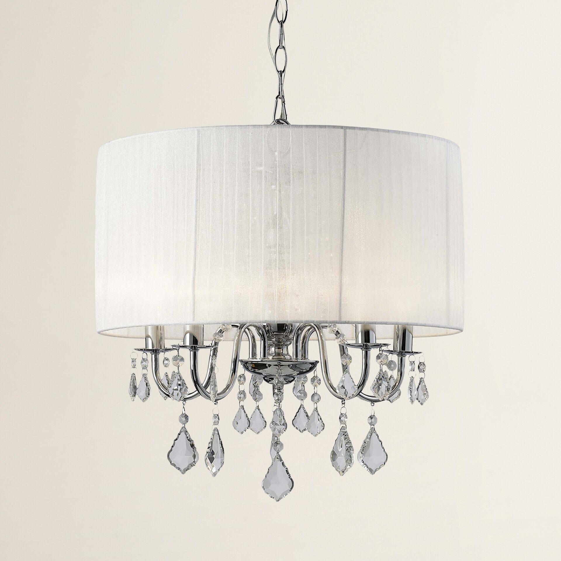 Wayfair Chandelier: House Of Hampton Middleton 5 Light Drum Chandelier