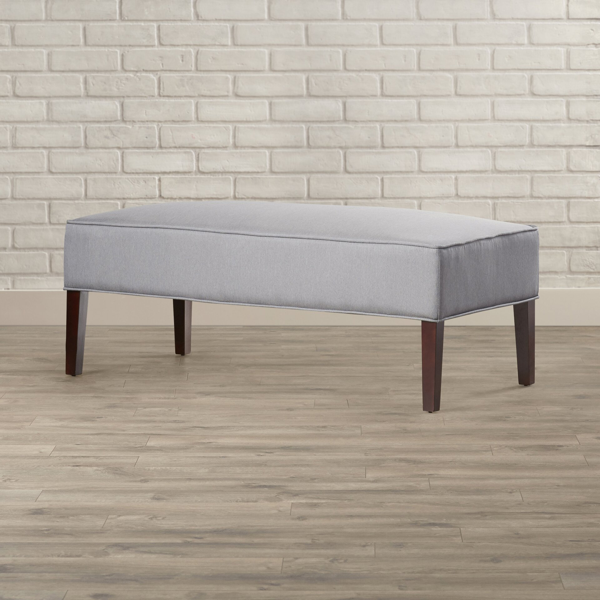 Upholstered Foyer Bench : House of hampton messines lux upholstered entryway bench