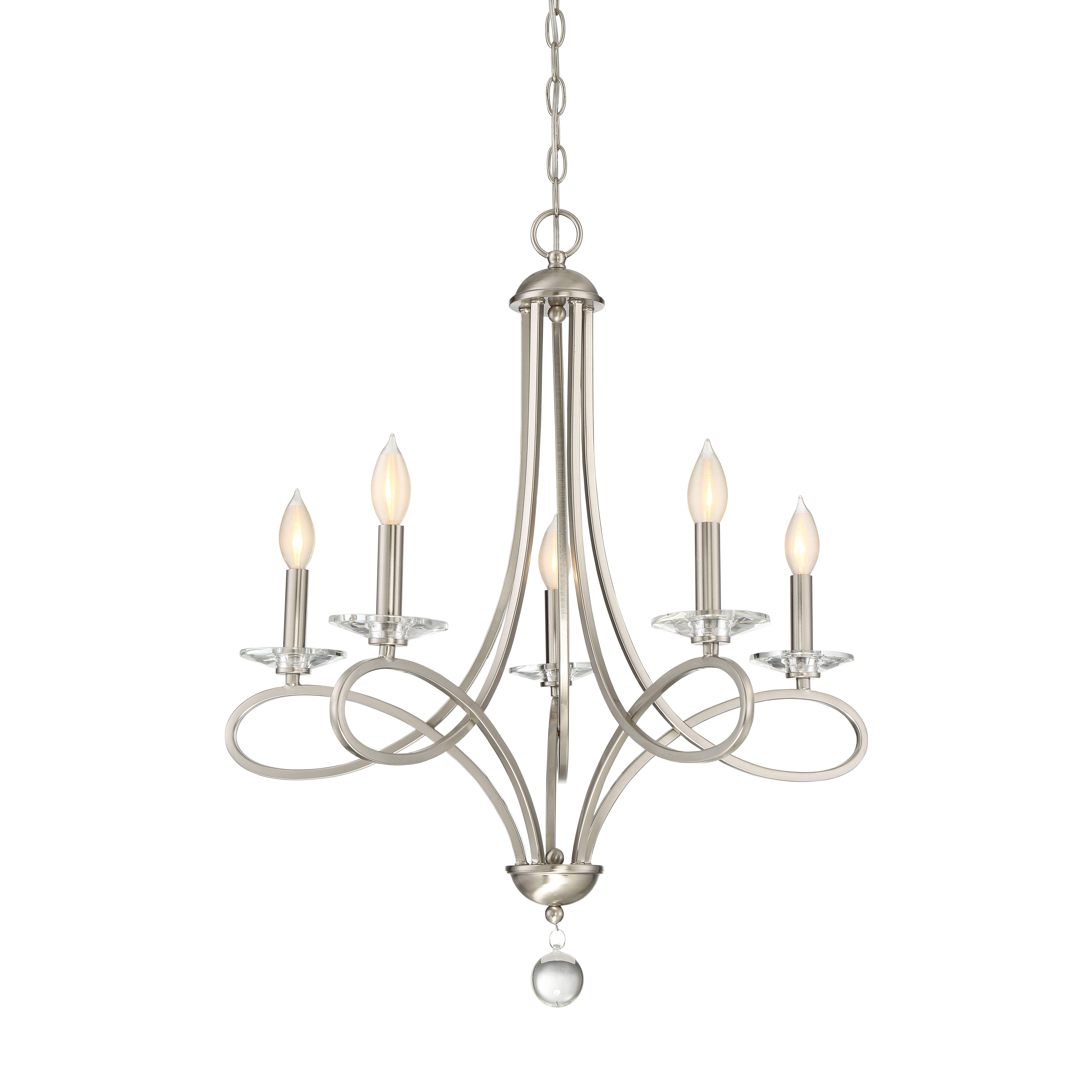 House Of Hampton Weingarten 5 Light Candle Style