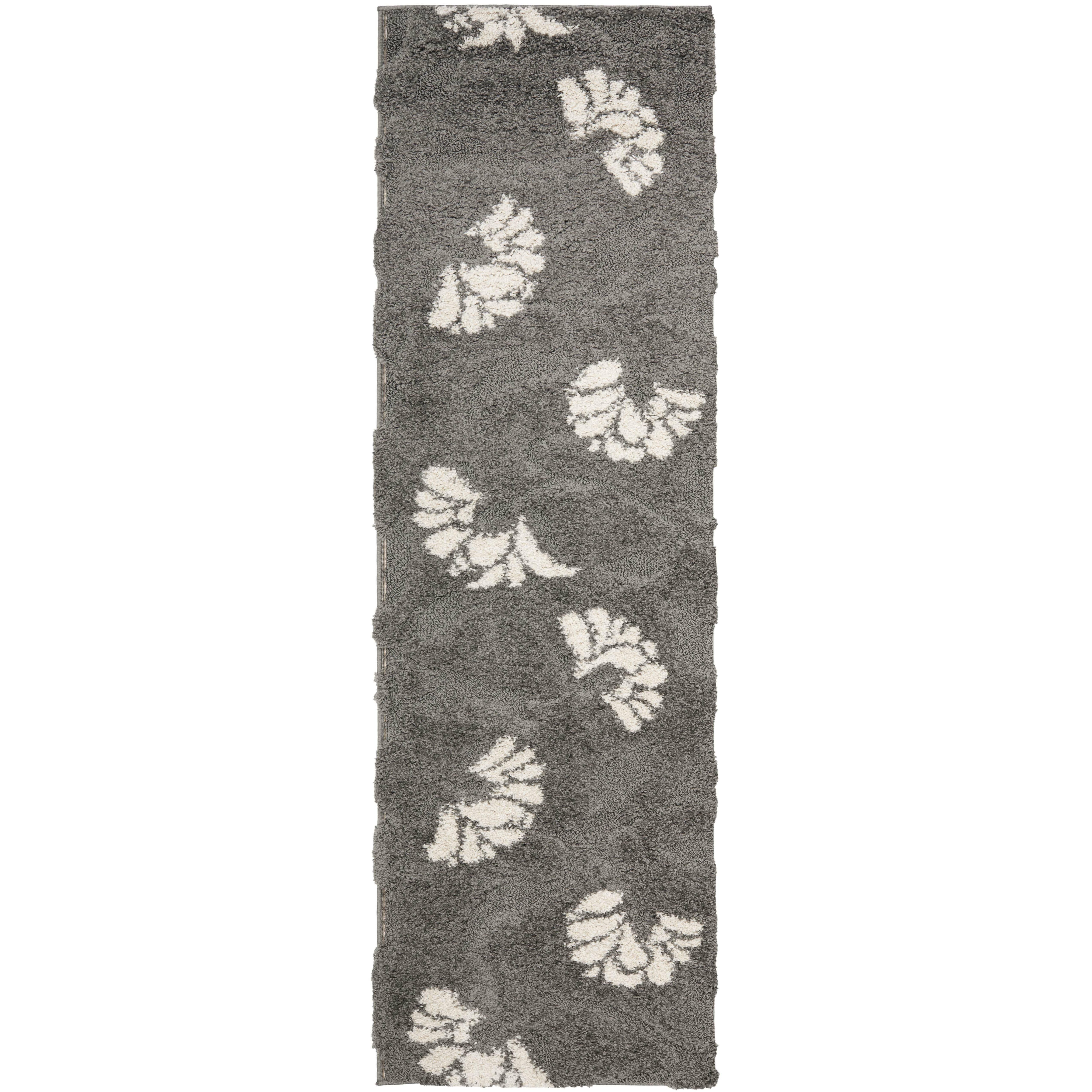 Dark Silver Rug: House Of Hampton Flanery Dark Grey/Beige Area Rug