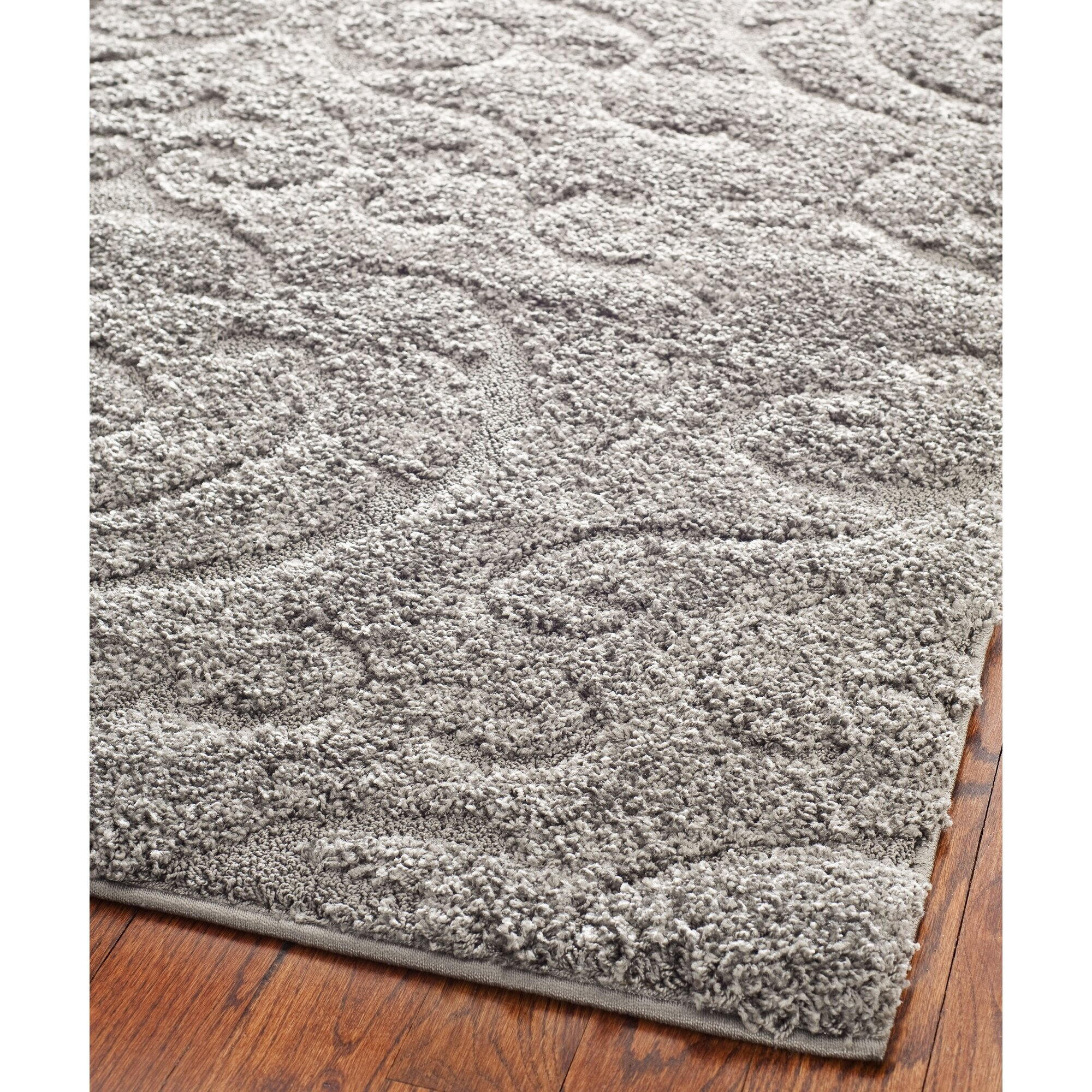 House Of Hampton Flanery Light Gray Beige Area Rug