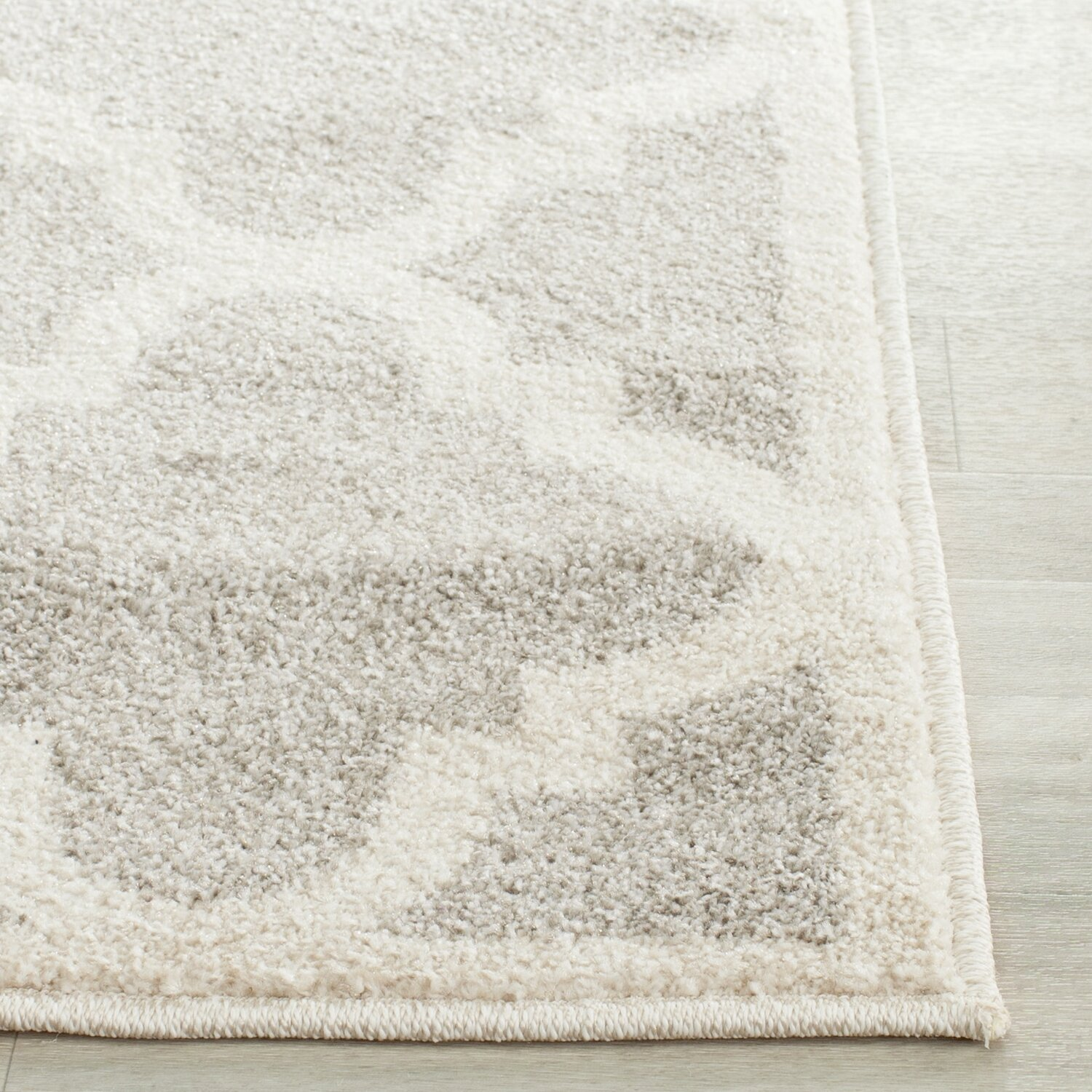 House of hampton levon light grey beige area rug for Grey and tan rug