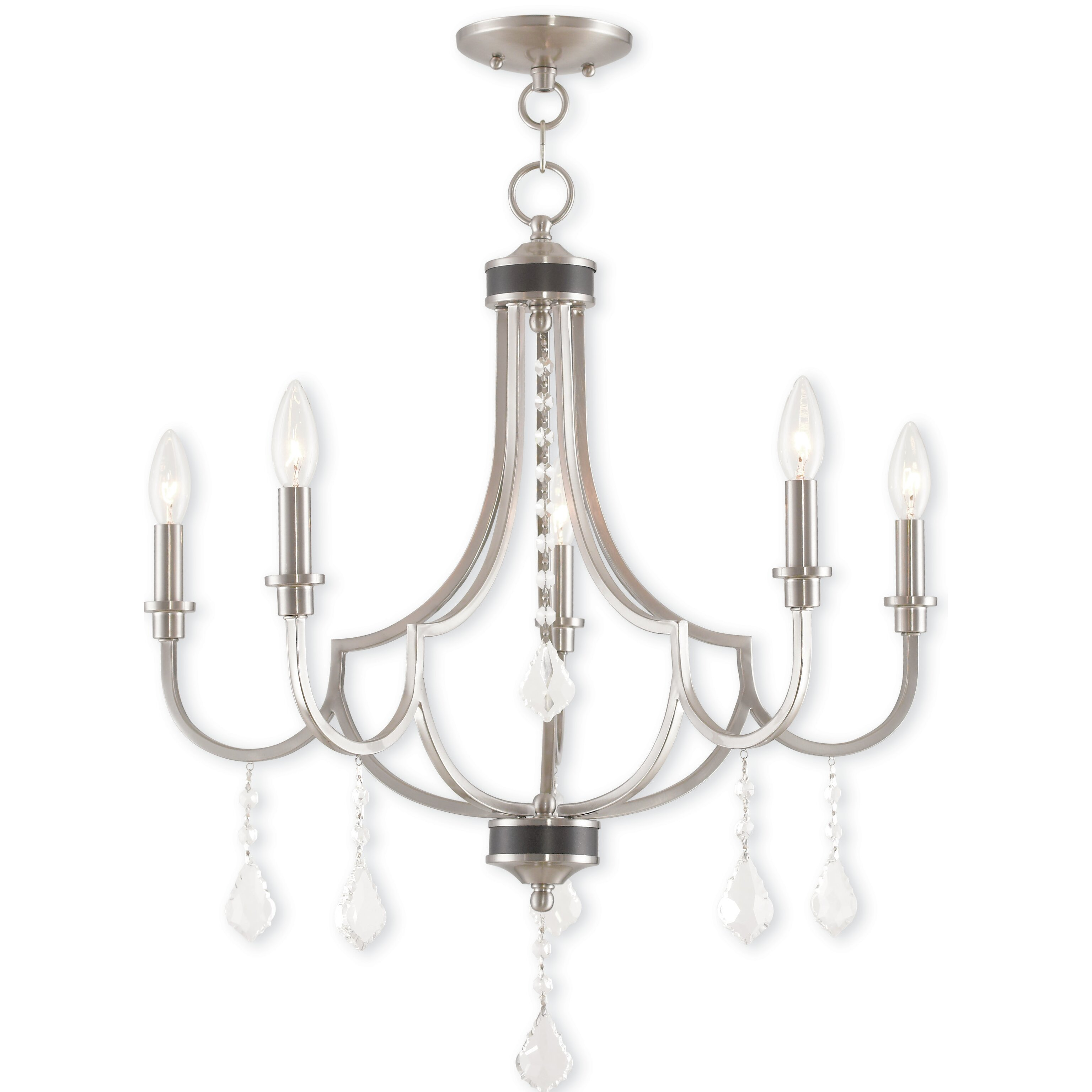 House Of Hampton Electra 5 Light Candle Style Chandelier