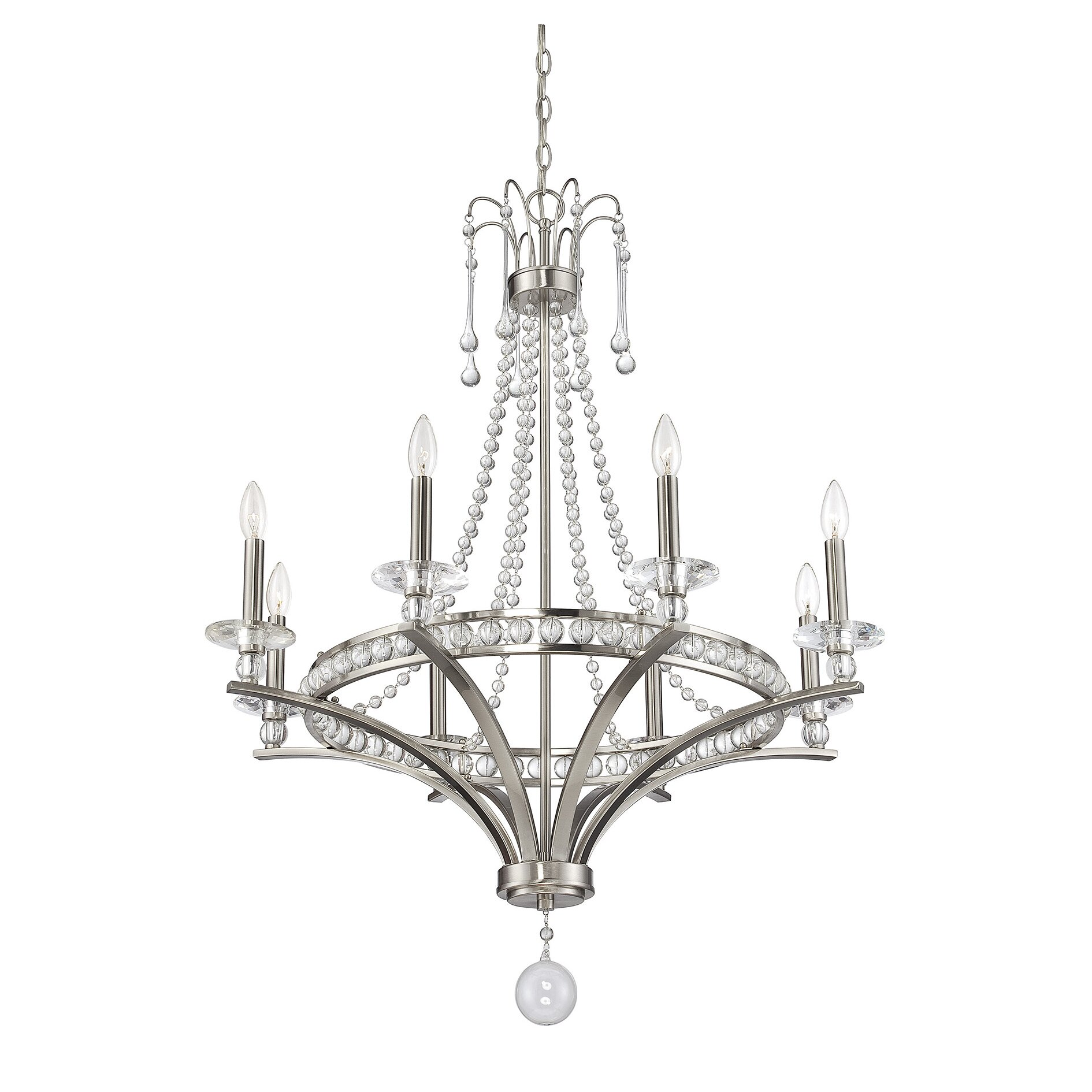 House Of Hampton Franklin 8 Light Candle Style Chandelier