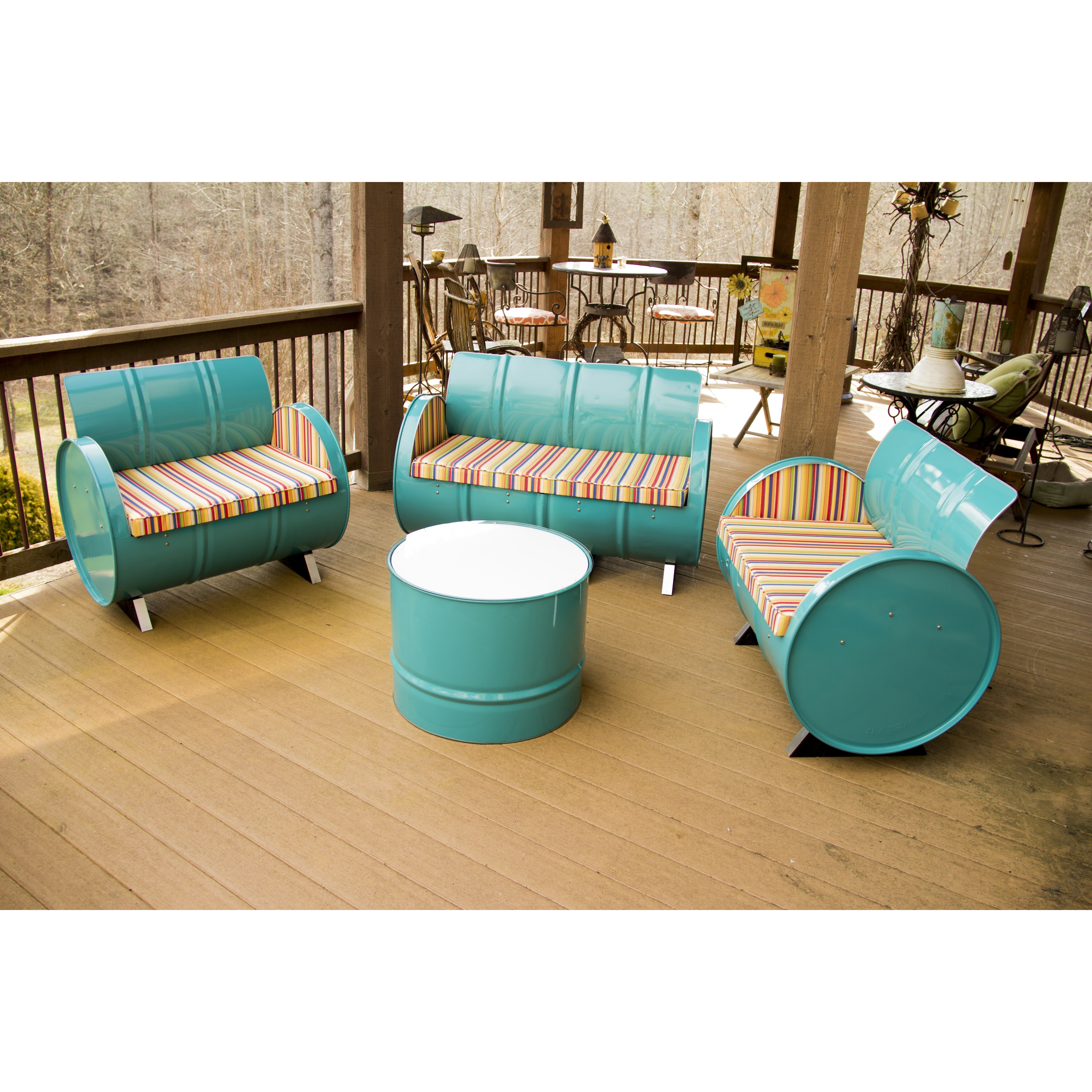 Drum Works Furniture Outer Banks 4 Piece Seating Group