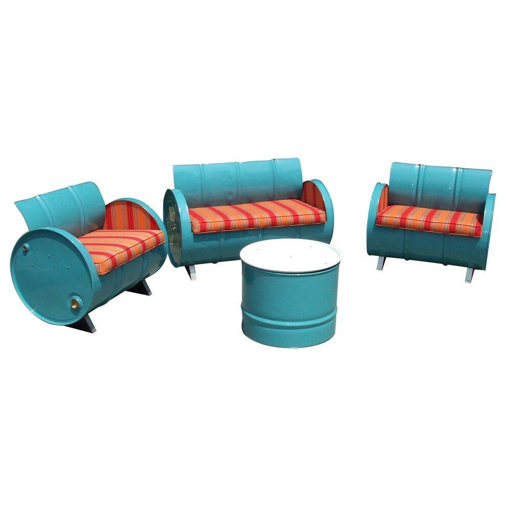 Drum works furniture tahoe indoor outdoor garden patio 4 for Indoor garden room furniture