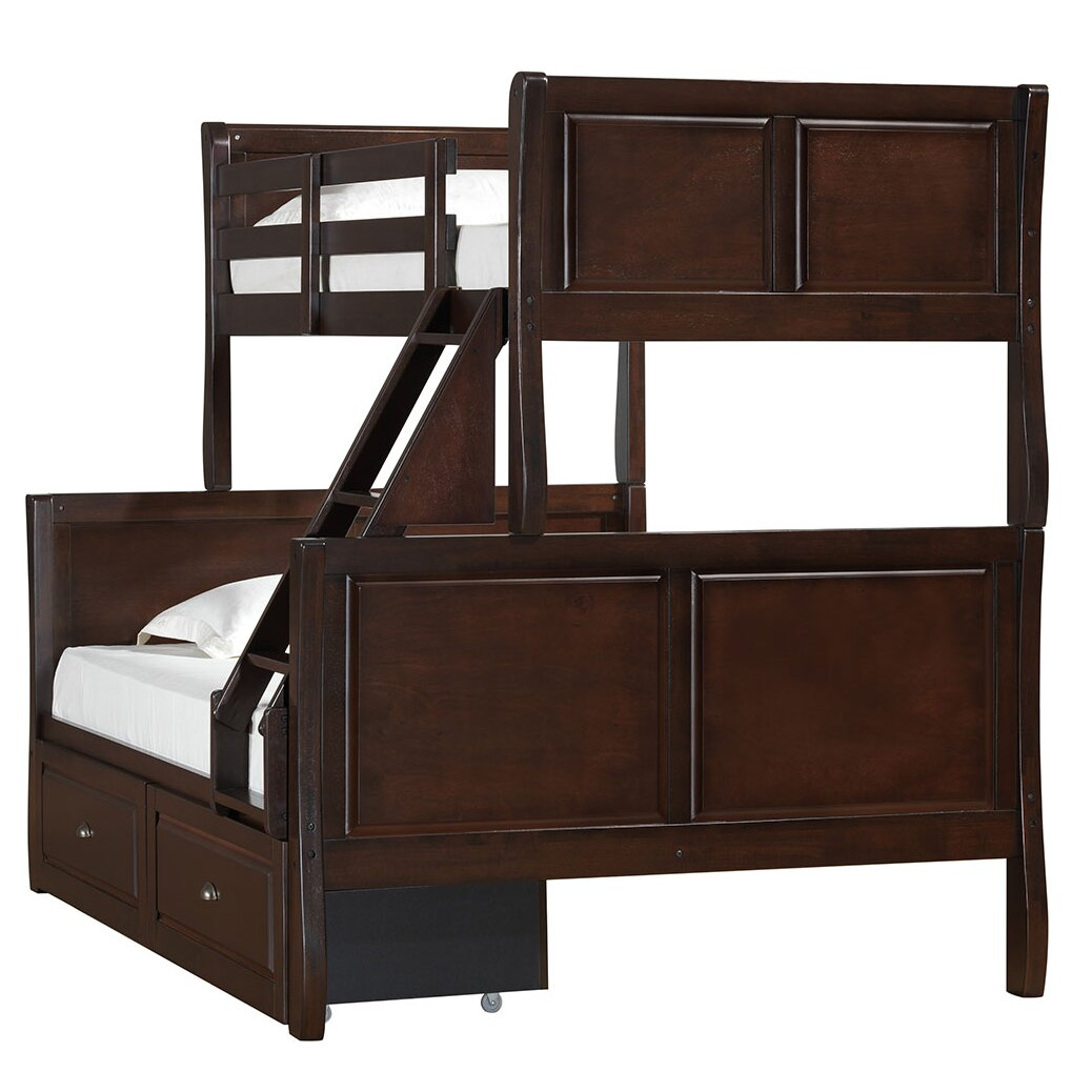 Simmons Casegoods Williamsburg Twin Over Full Bunk Bed