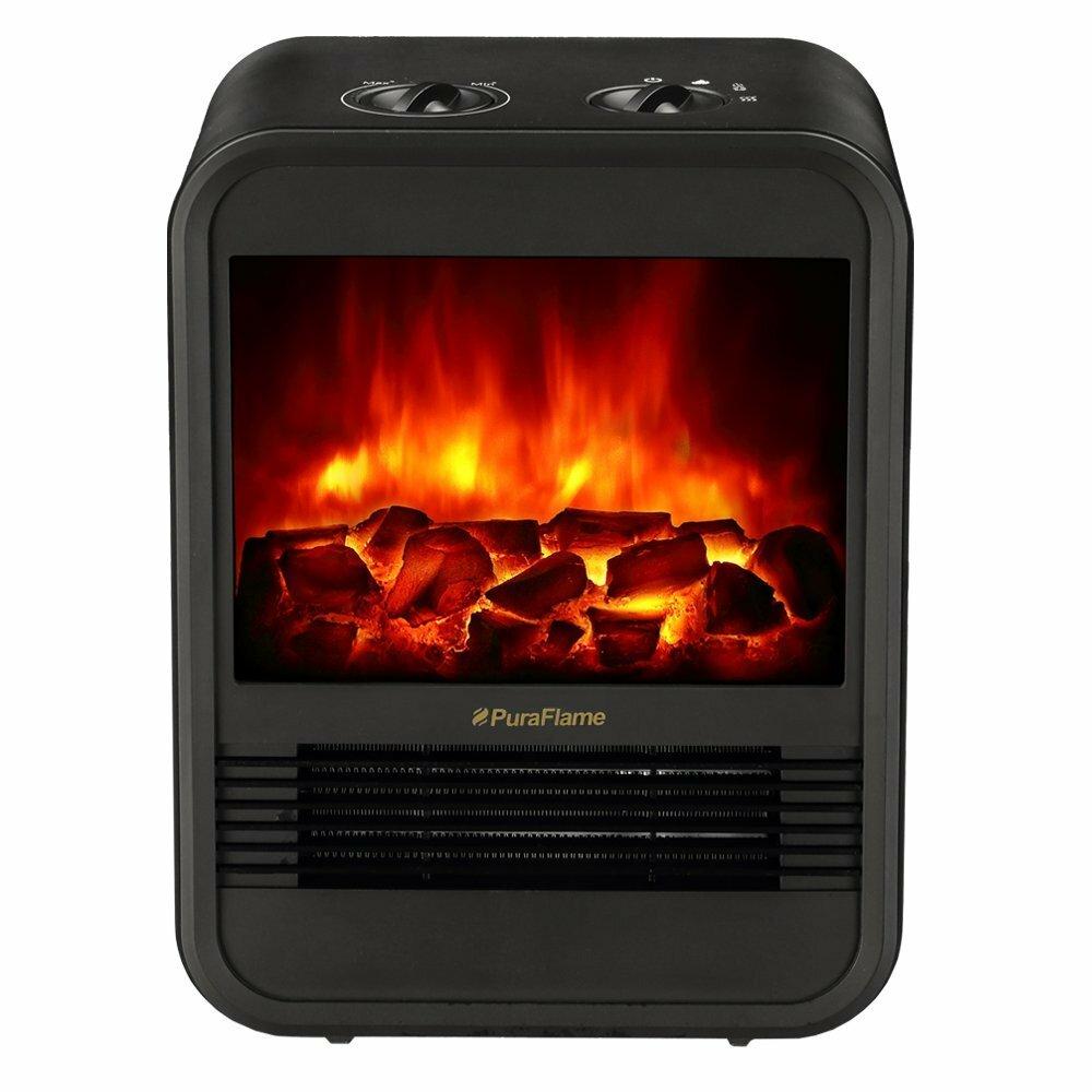 puraflame 1 250 watt portable electric compact heater. Black Bedroom Furniture Sets. Home Design Ideas