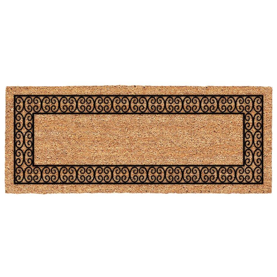 Us Cocoa Mat Decoir Charleston Border Double Door Doormat