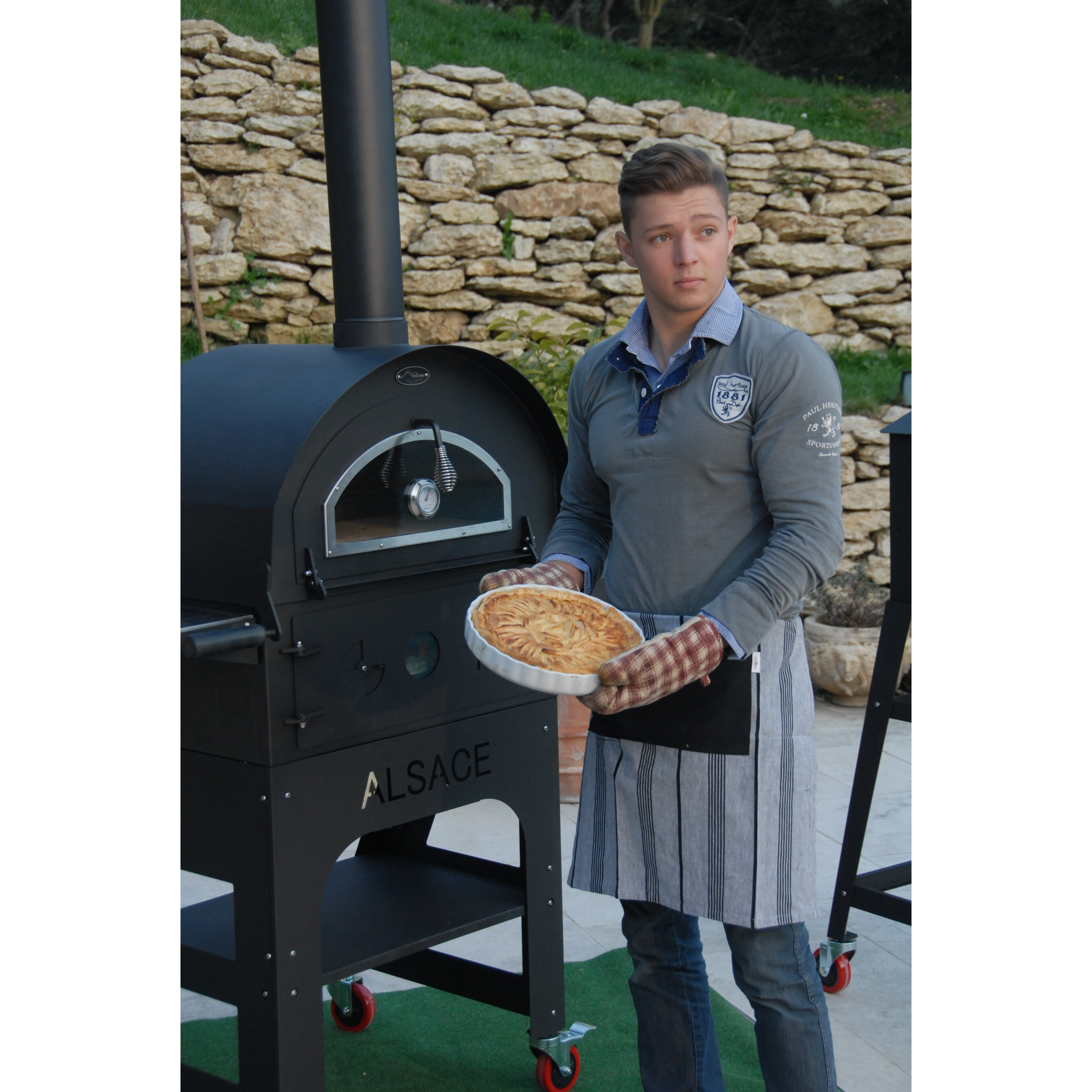 L'Art du Jardin Outdoor Wood-Fired Ovens Alsace Authentic ...