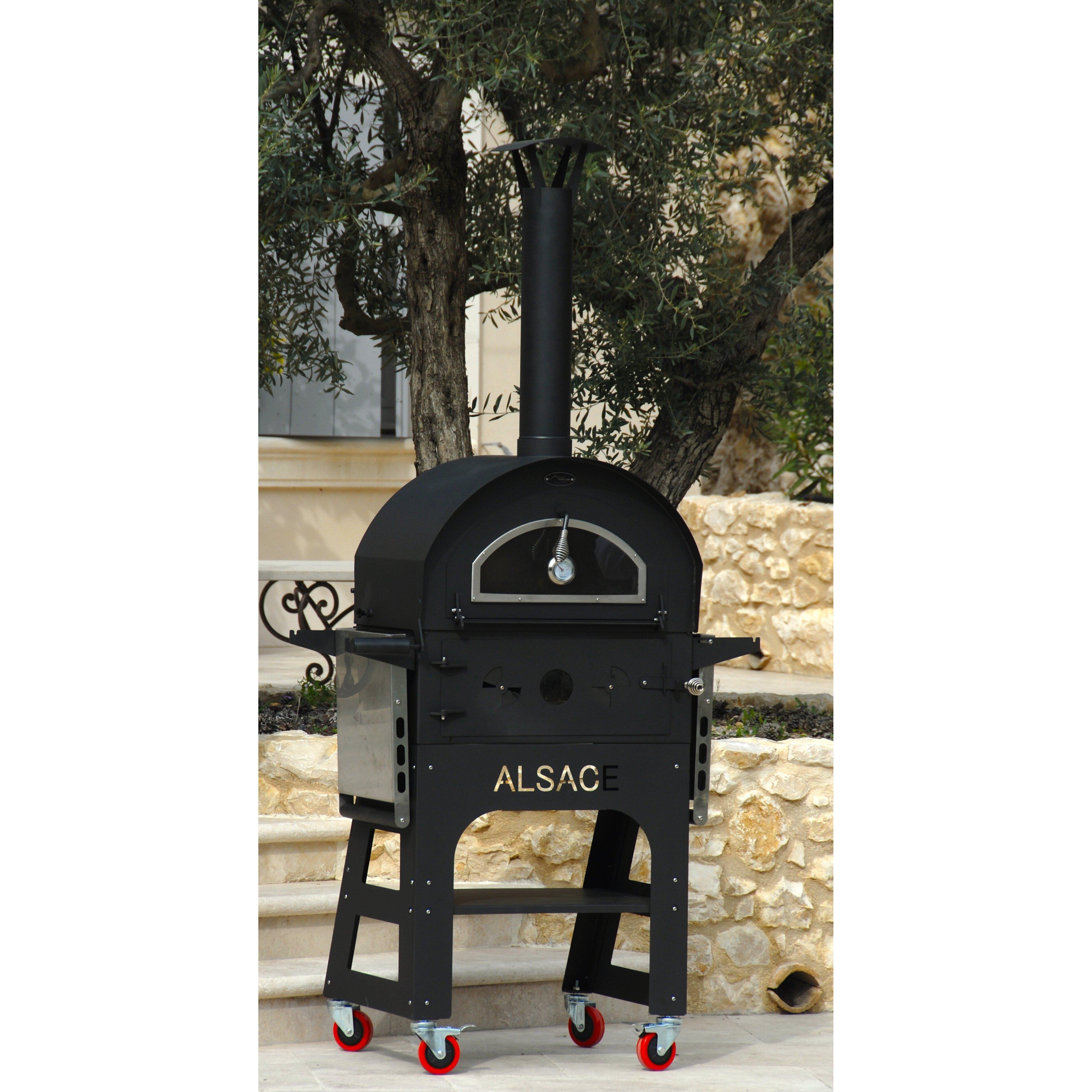 l 39 art du jardin outdoor wood fired ovens alsace authentic european style outdoor wood fired oven. Black Bedroom Furniture Sets. Home Design Ideas