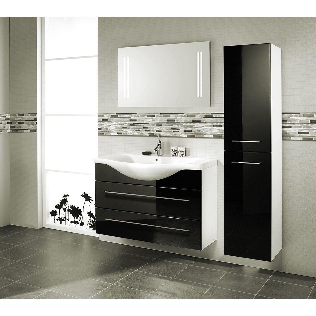 Abolos city lights new york random sized aluminum mosaic for Salle de bain moderne noir et blanc
