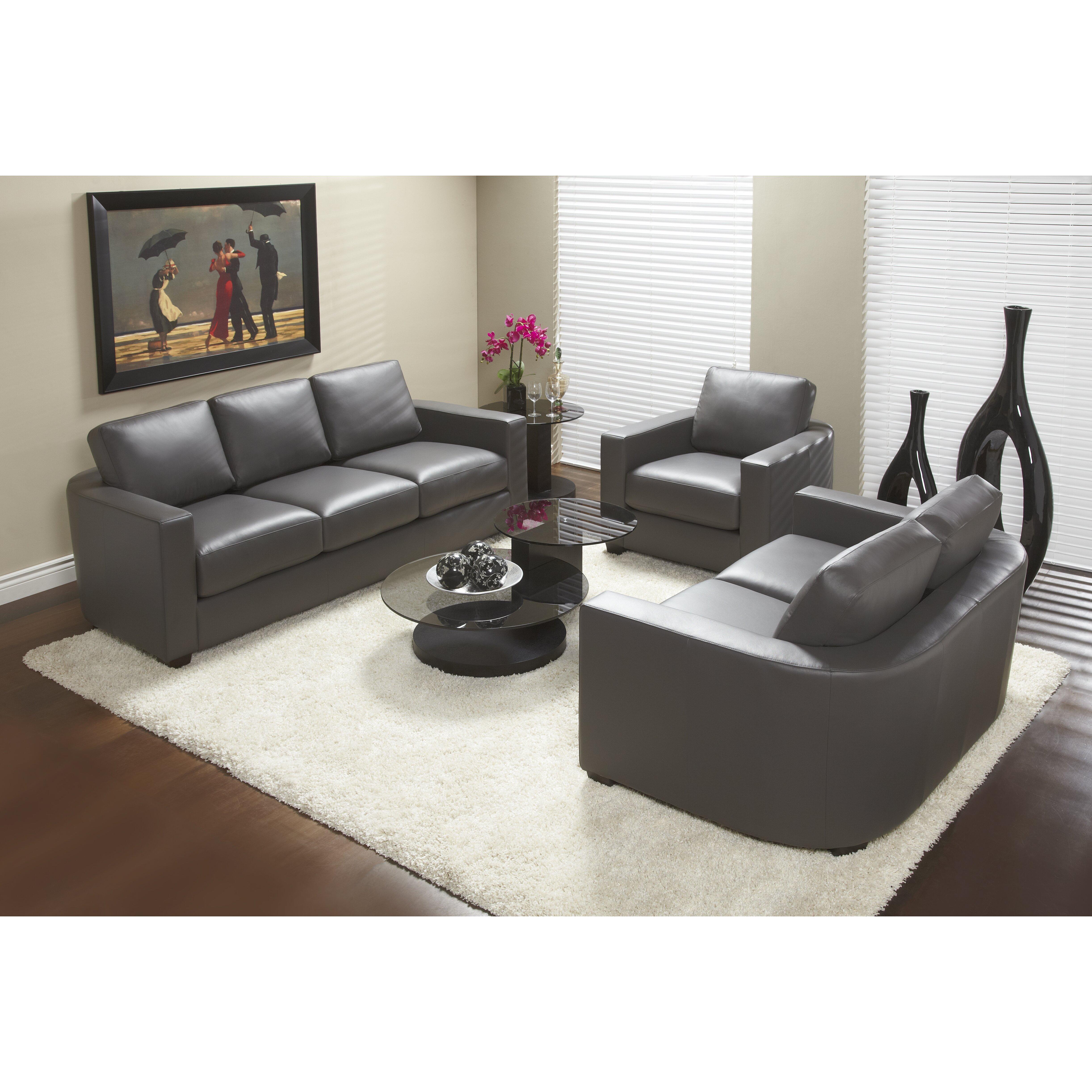 Lind Furniture Marquis Top Grain Leather Sofa Wayfair