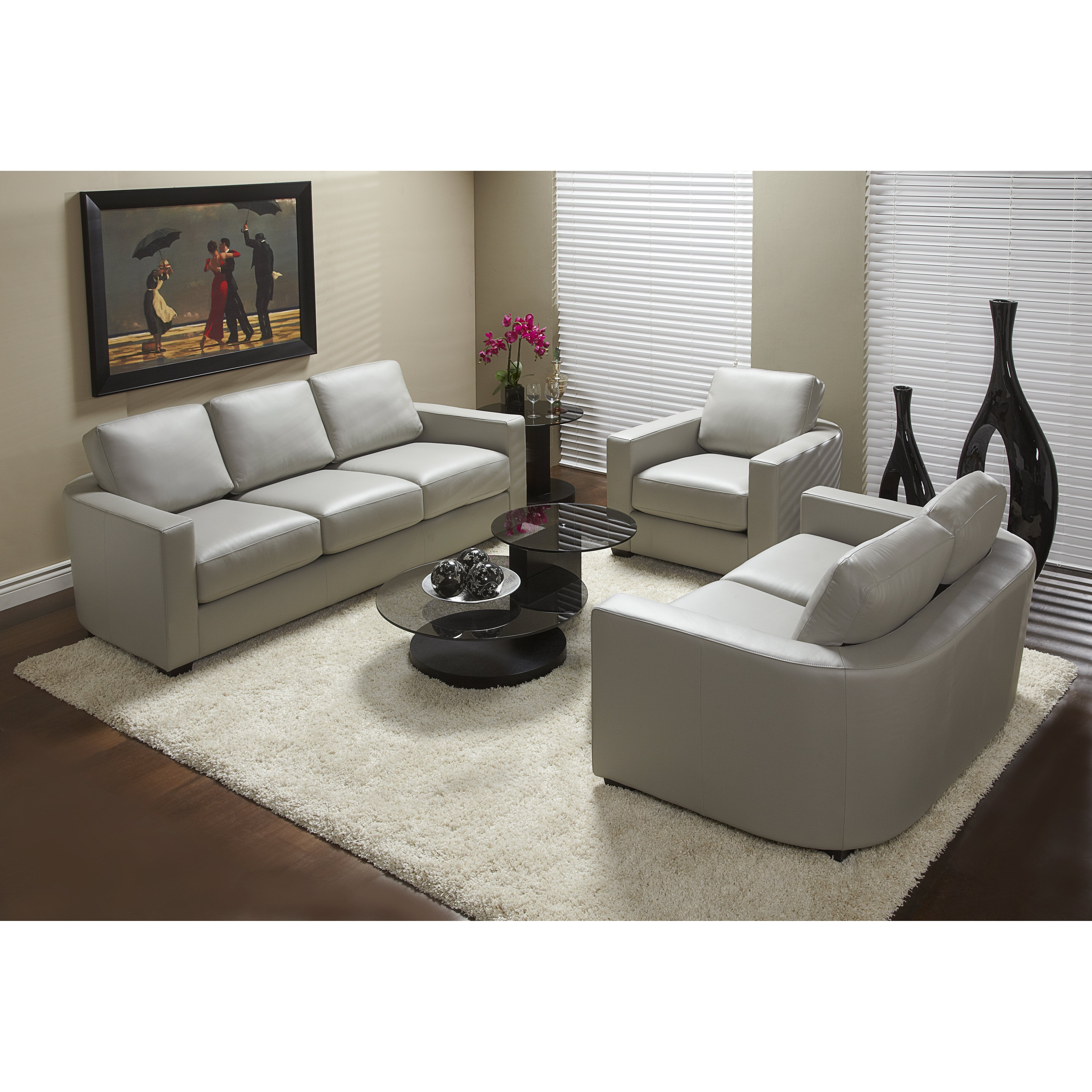 Lind Furniture 947 Series Top Grain Leather Living Room Collection Wayfair