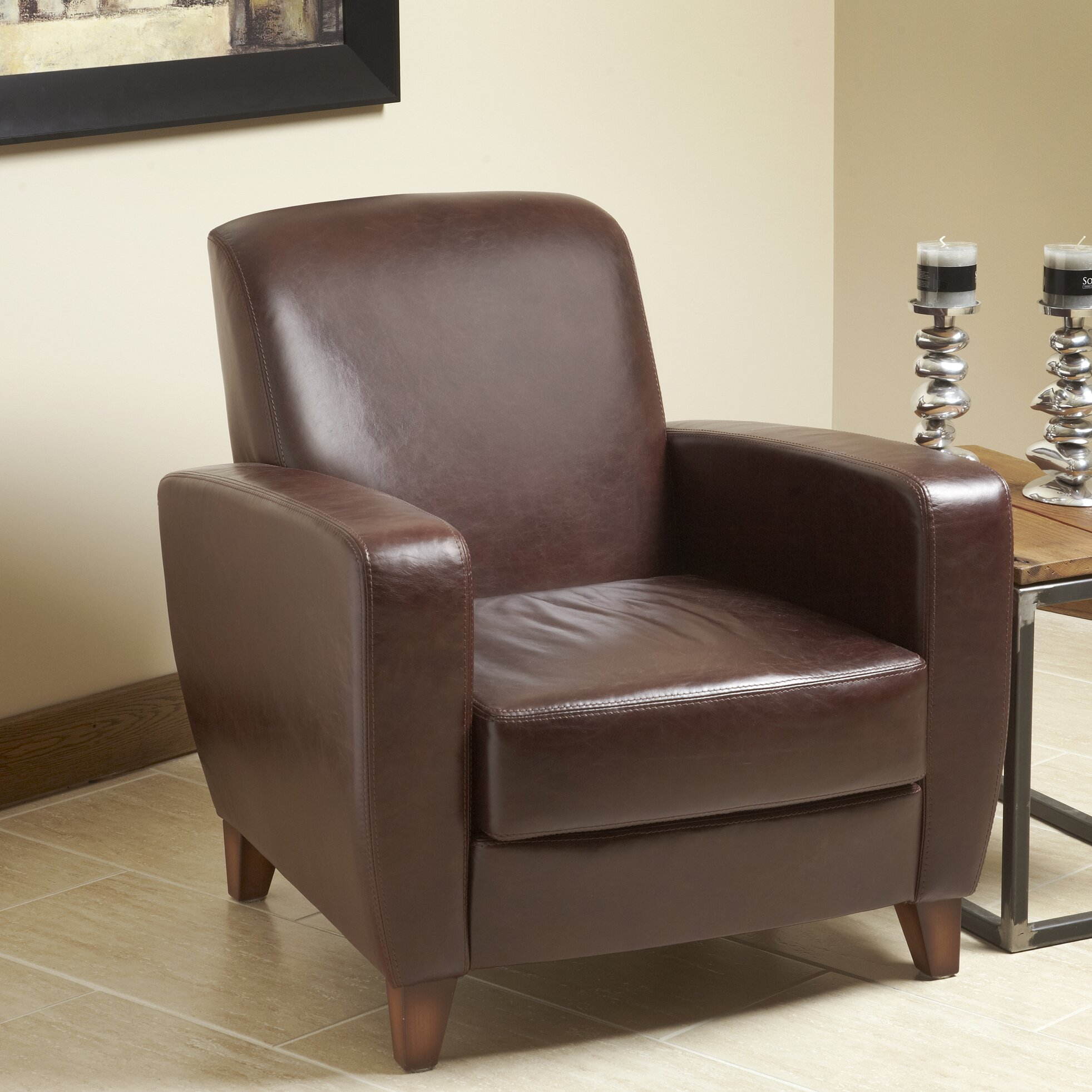 top grain leather club chair lind furniture modavi top grain leather club chair wayfair 8548