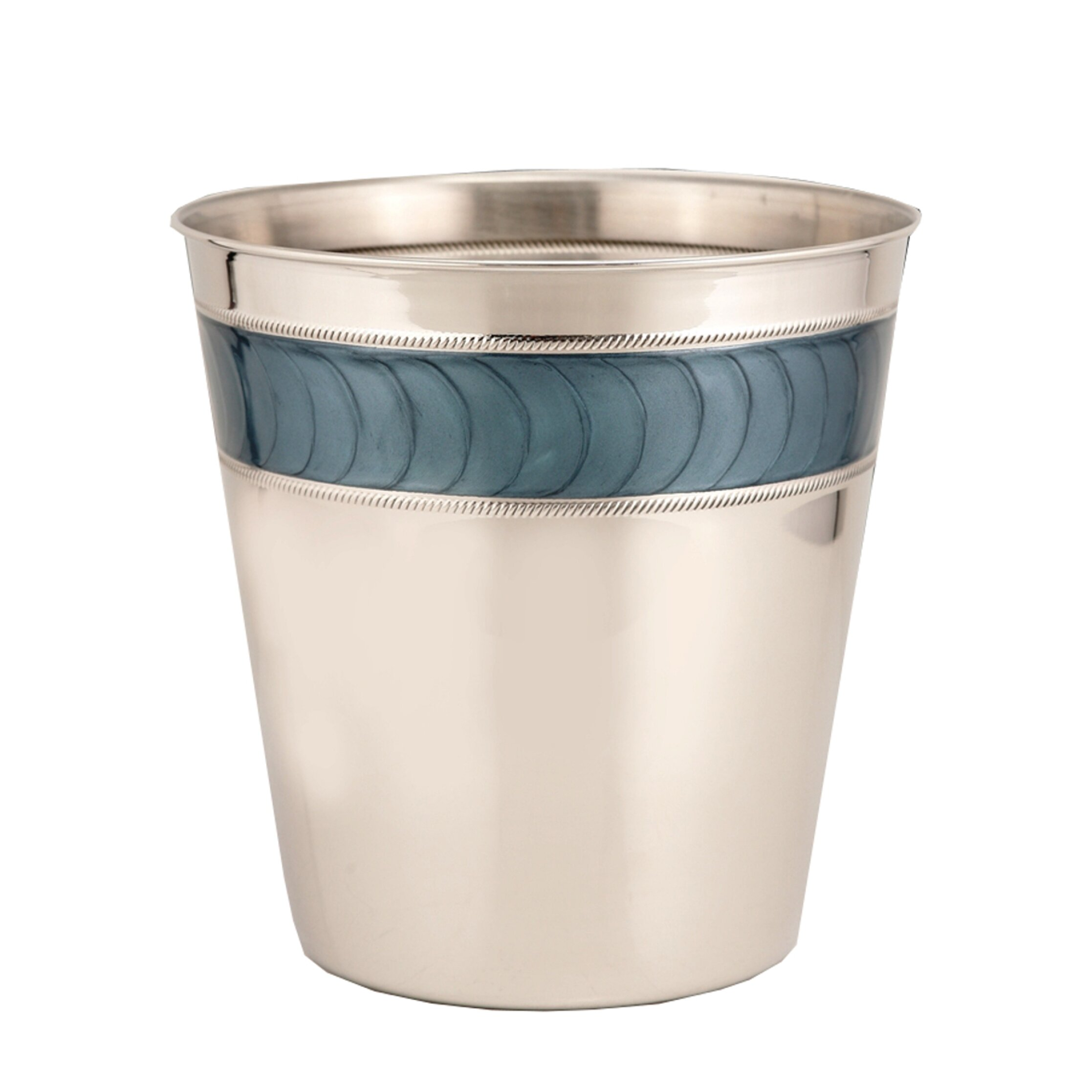Fashion Home Express 3 Gallon Stainless Steel Trash Can