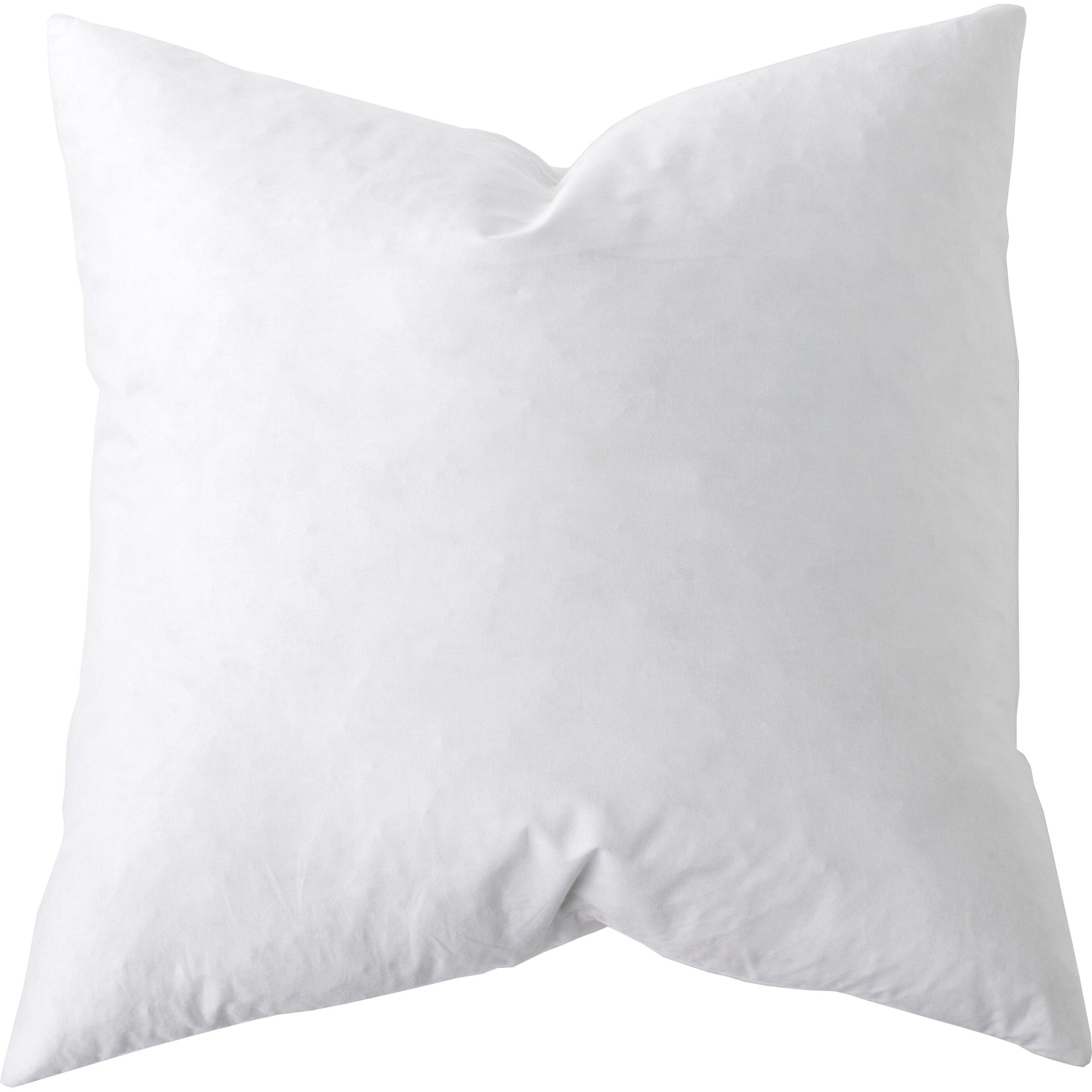 Sunflower Hometex Down Alternative Cotton Euro Pillow & Reviews Wayfair