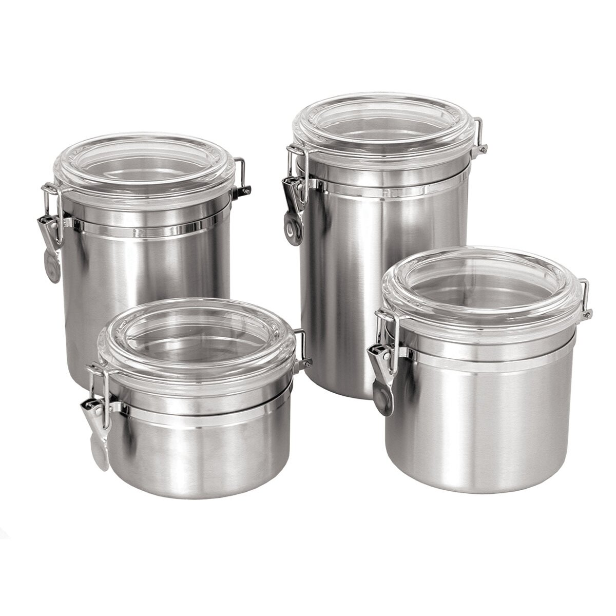 Update International 64 Oz Stainless Steel Canister With