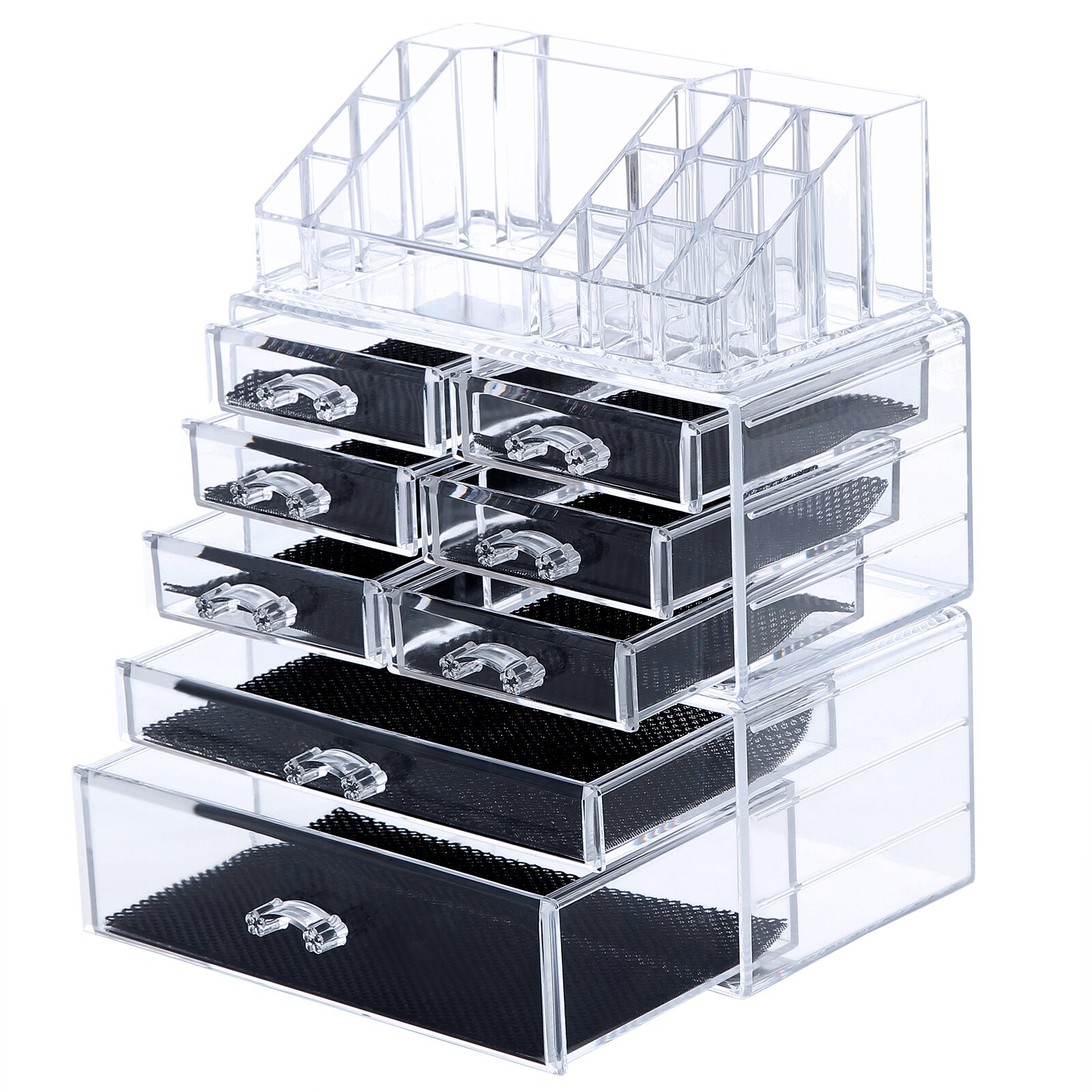 Songmics 8 Drawer Makeup Organizer Cosmetic Storage Box