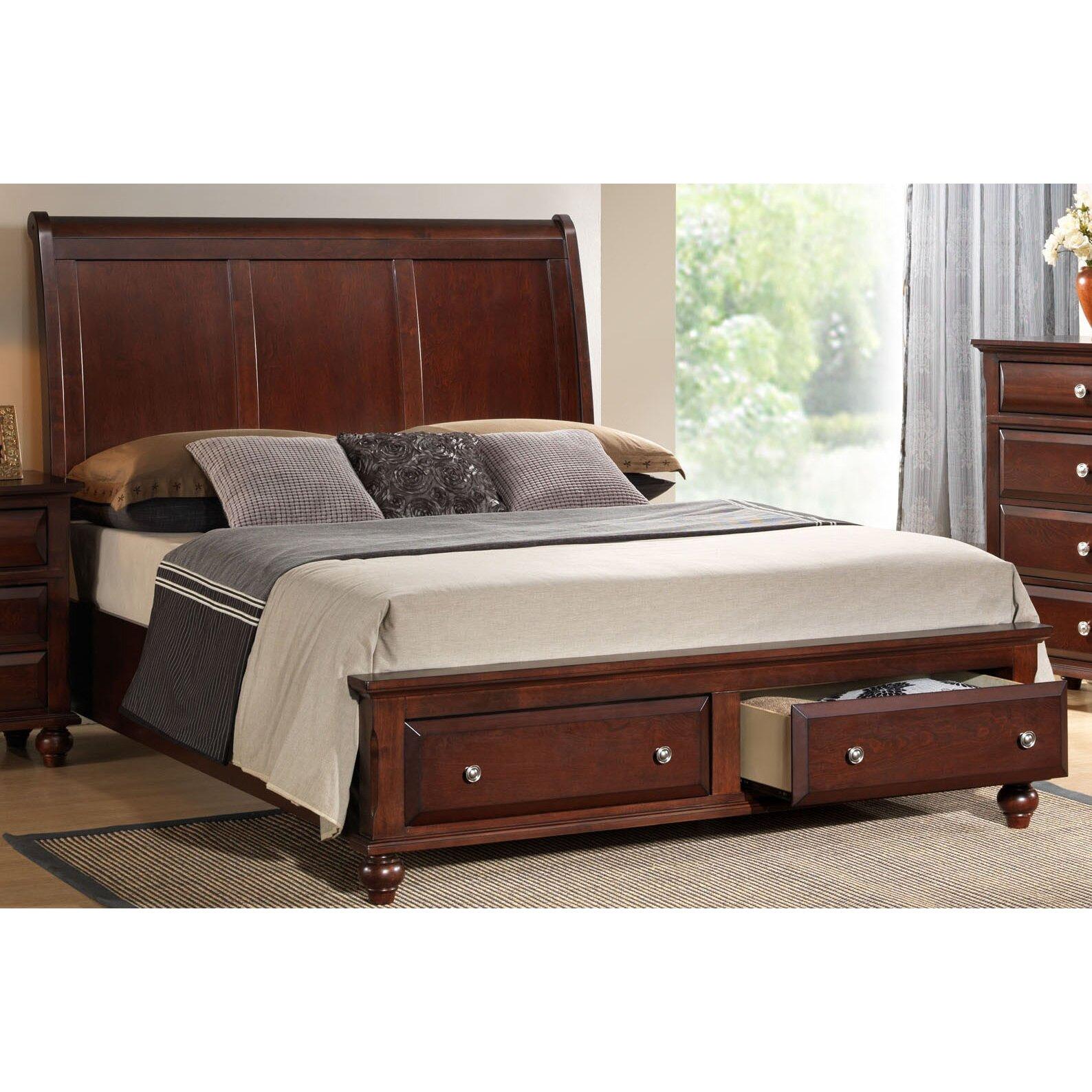 Roundhill Furniture Concord Platform Bed Wayfair Ca