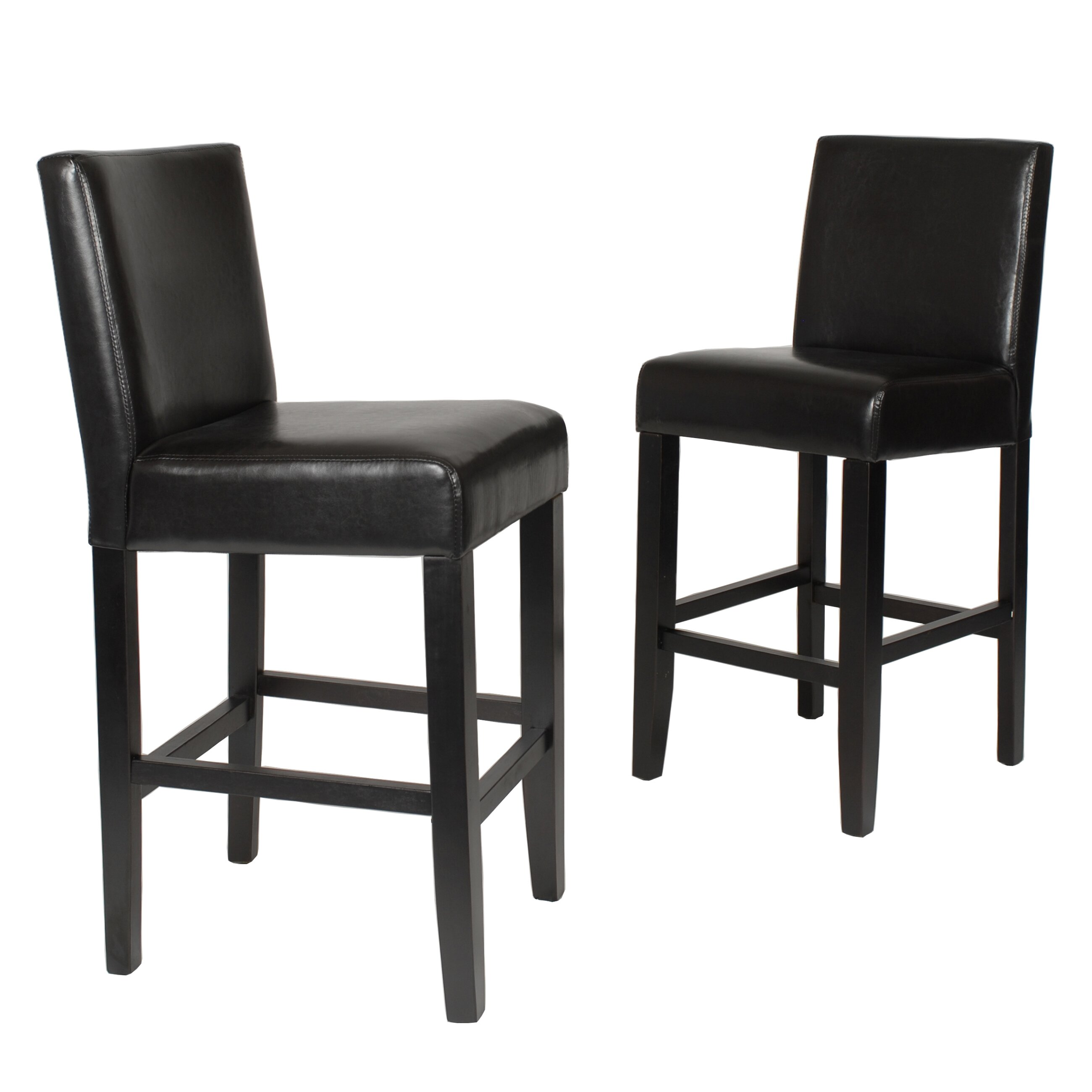 "Roundhill Furniture Citylight 25"" Bar Stool & Reviews"