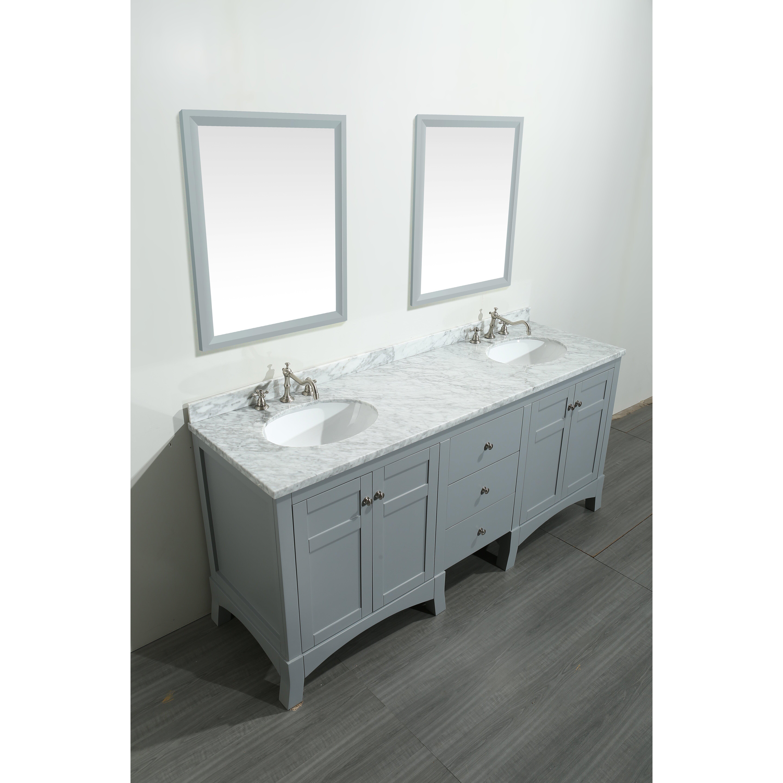 eviva new york 72 double bathroom vanity set reviews